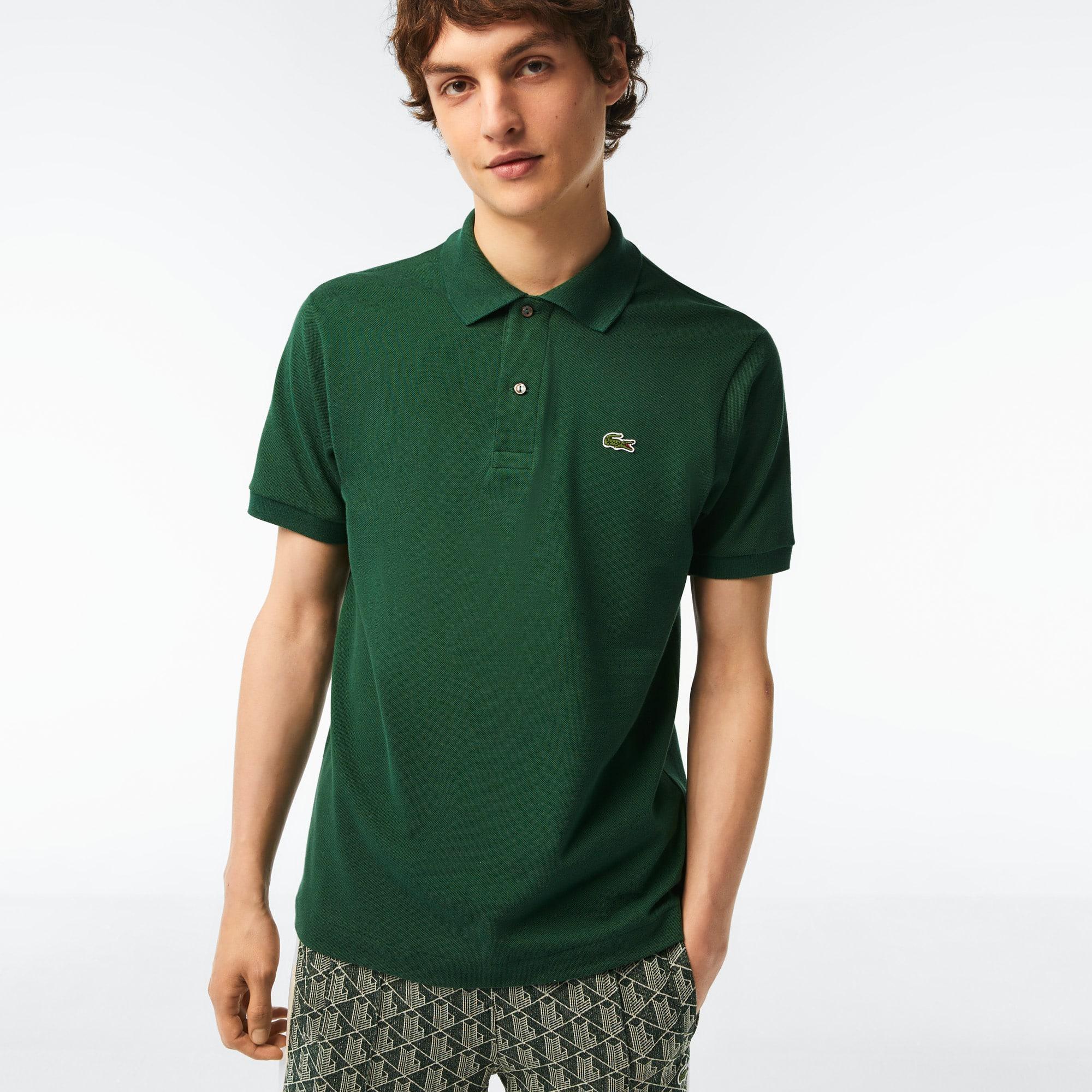 5f2face0d30 Polo regular fit Lacoste en coton à rayures colorées. 120