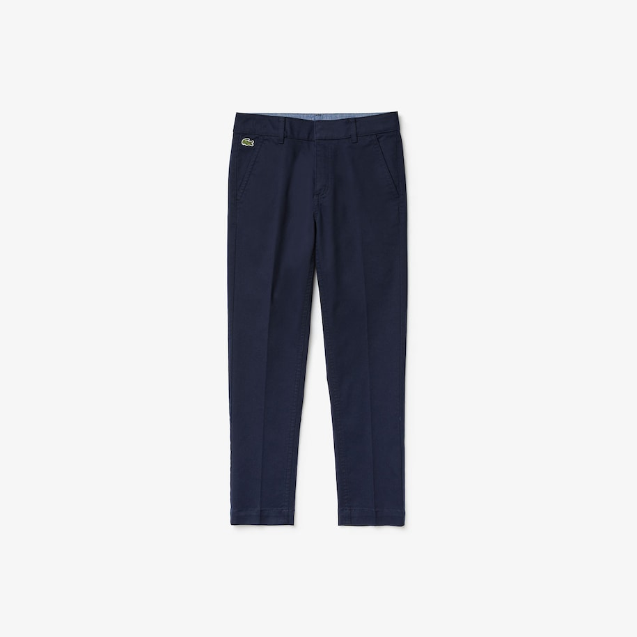 Pantalon chino Garçon en coton stretch