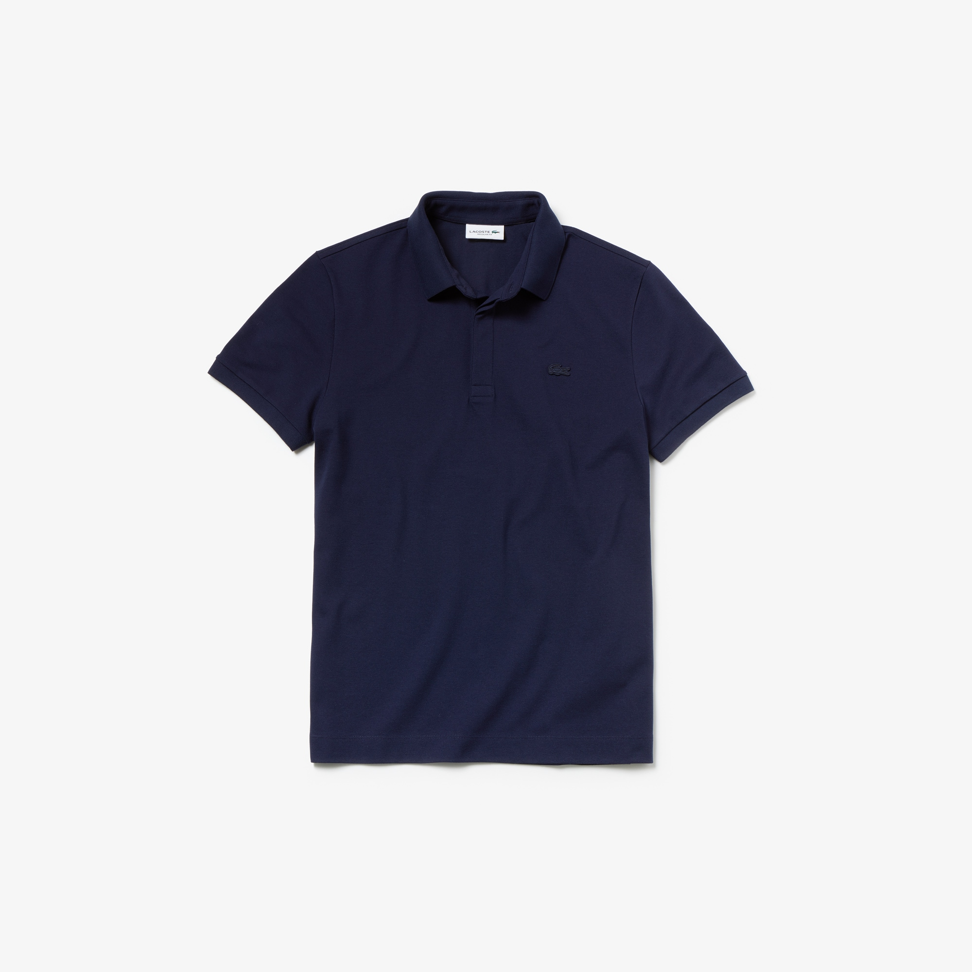 Lacoste - Paris Polo regular fit Lacoste en piqué de coton stretch - 4