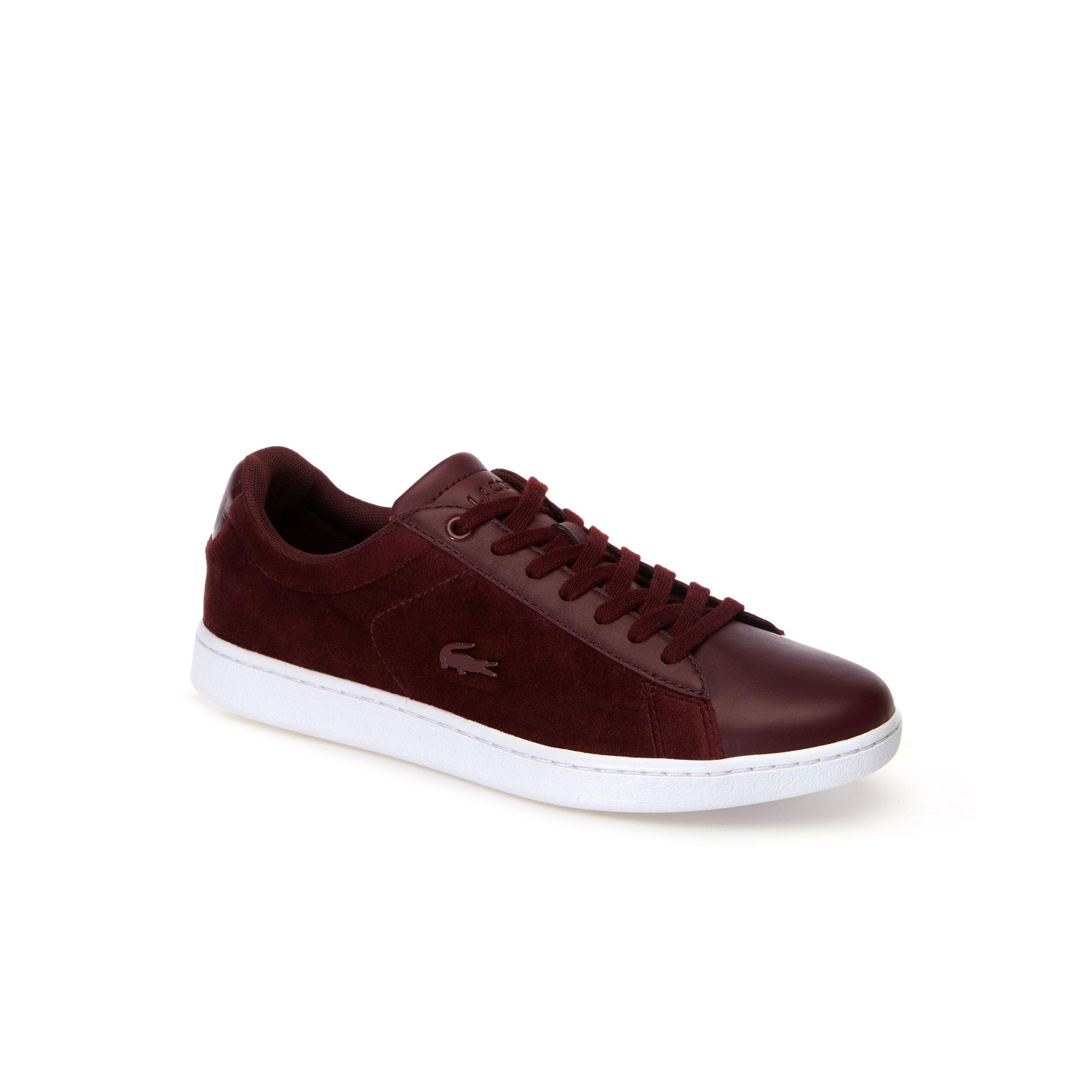 Sneakers Carnaby Evo femme en velours et cuir