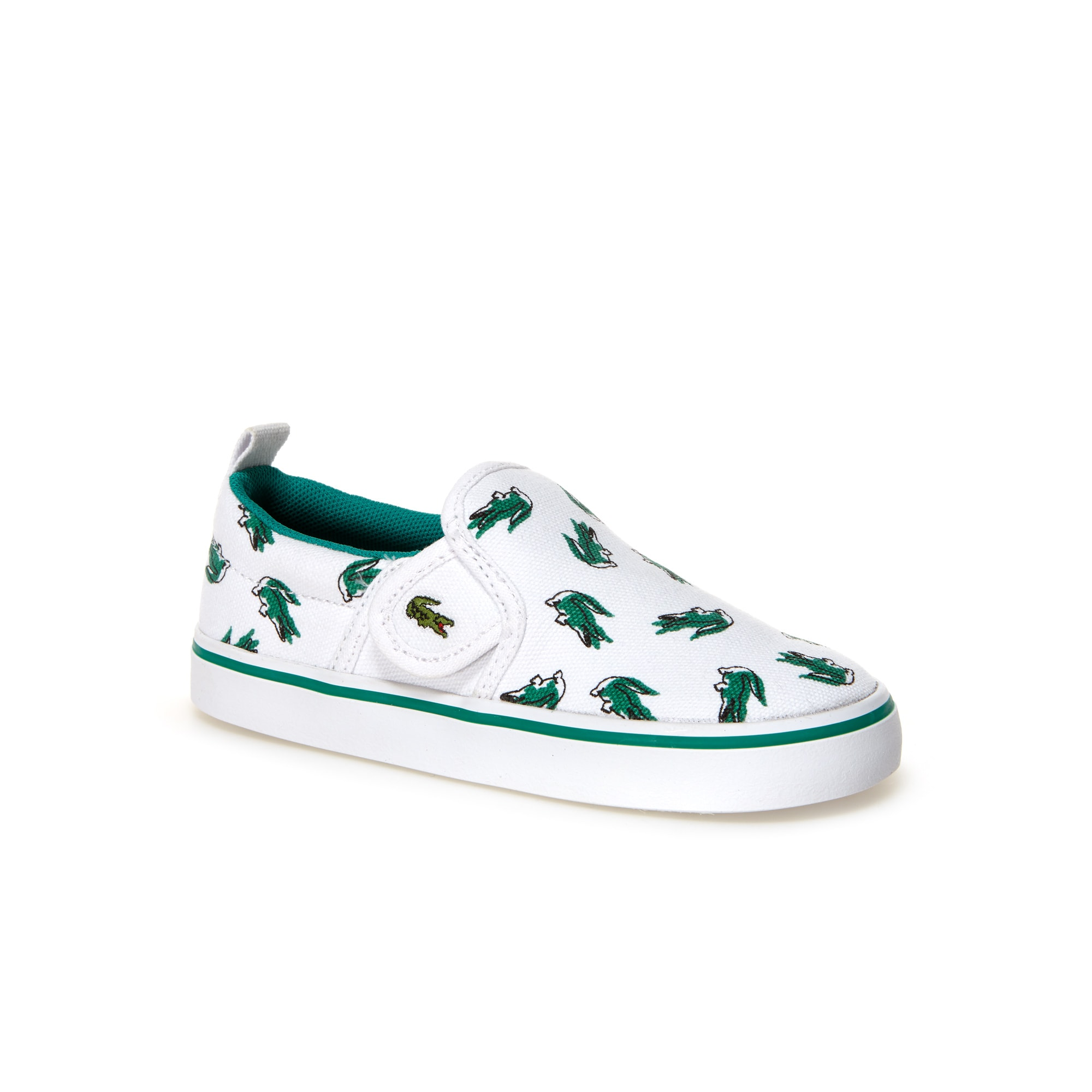 Slip-on Enfant Gazon en toile