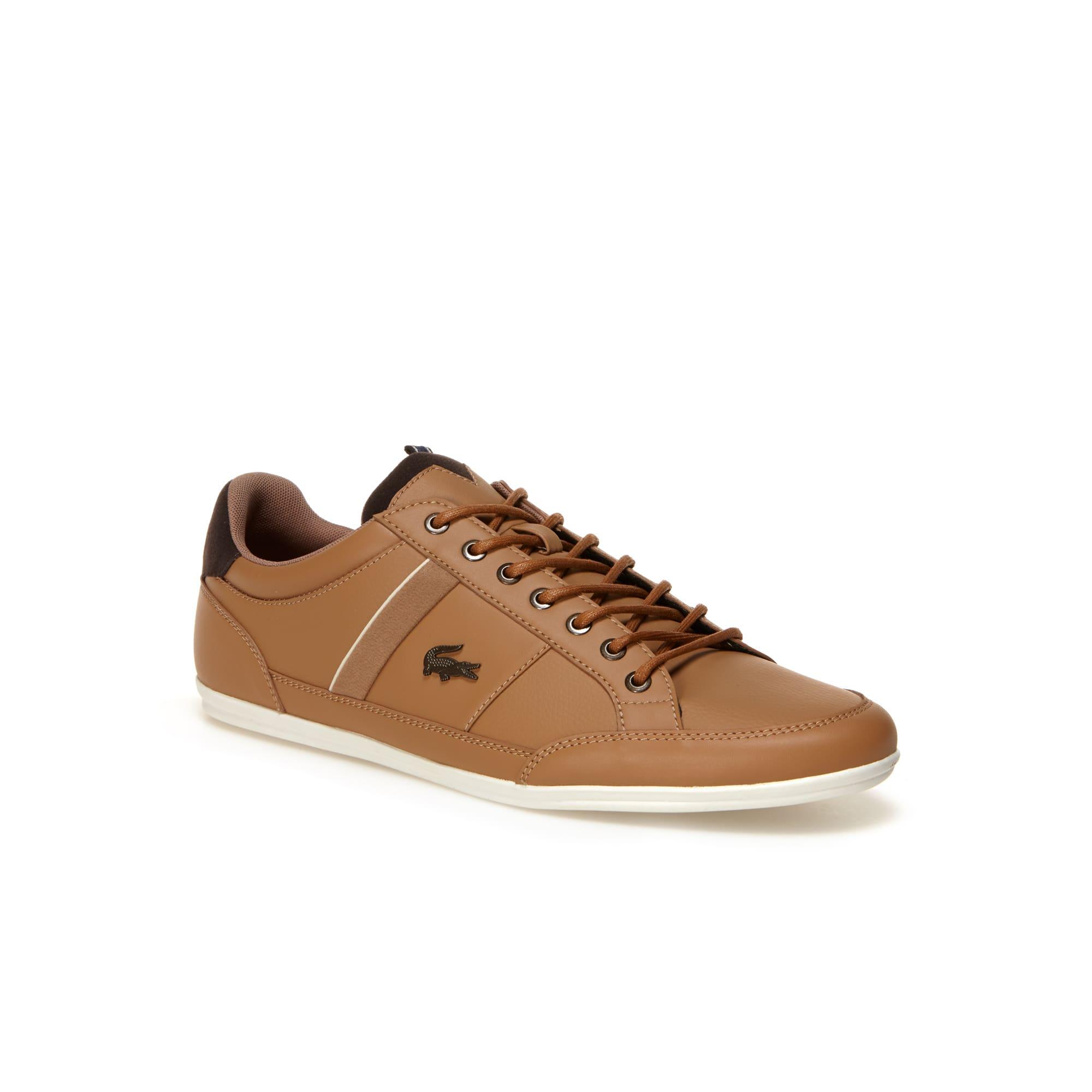 Sneakers Chaymon en cuir nappa
