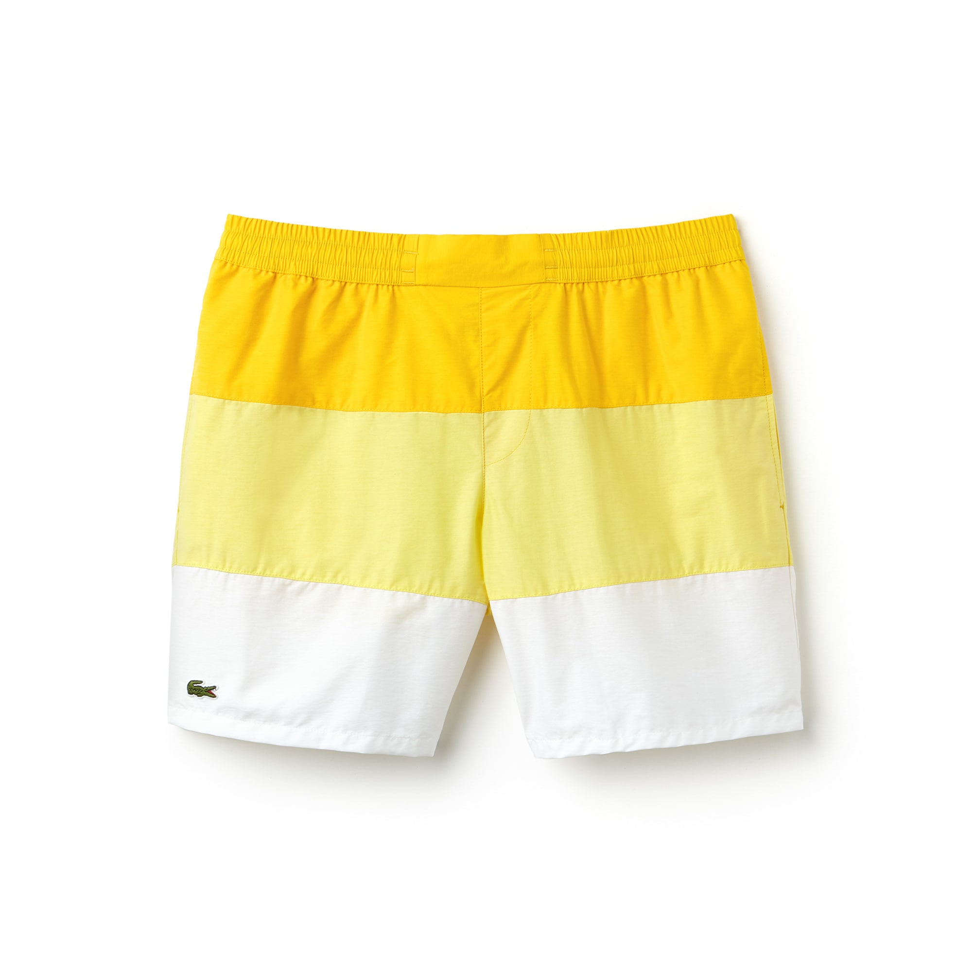 Short de bain en taffetas color block