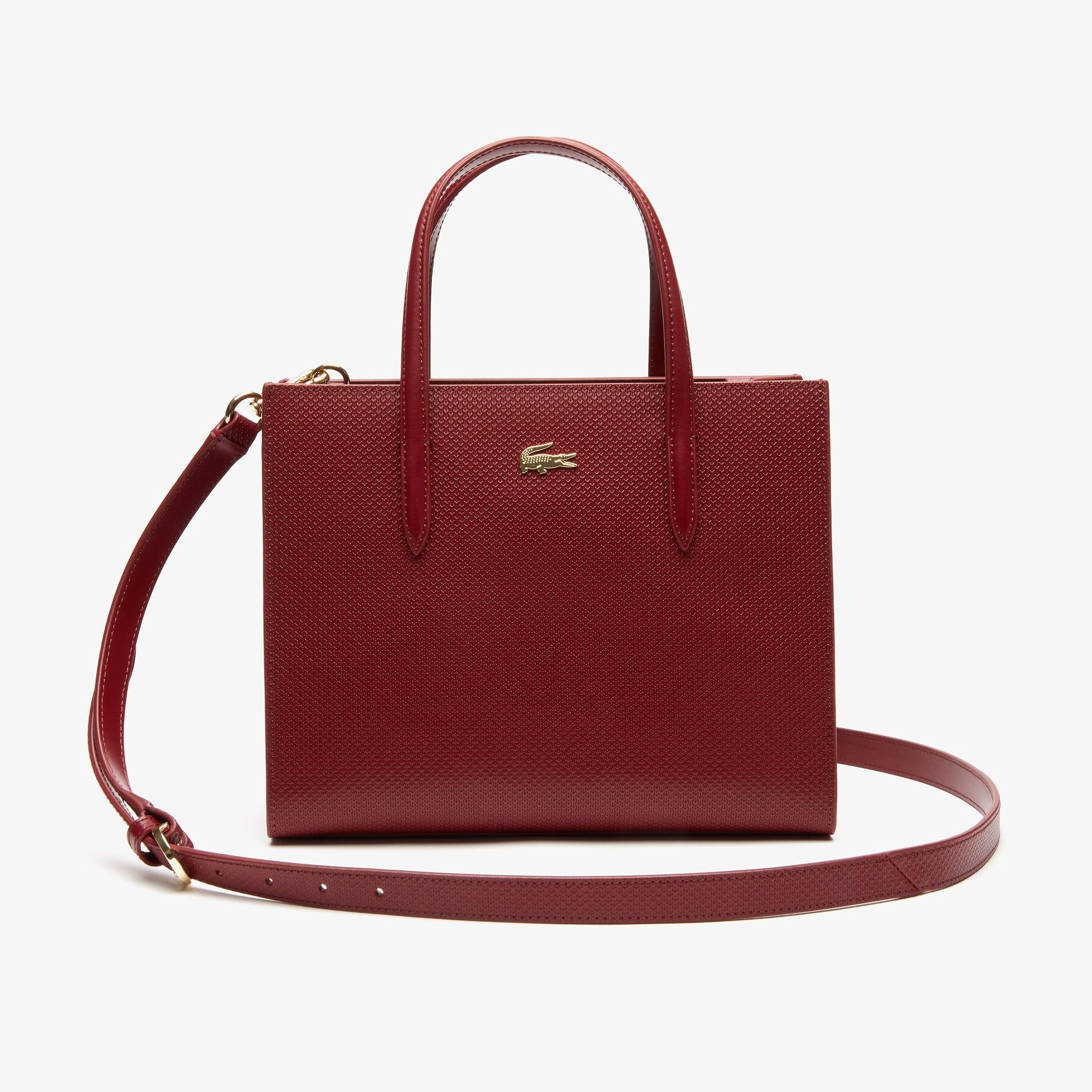 22b36e689e Sacs à main cuir, sacs cabas | Maroquinerie femme | LACOSTE
