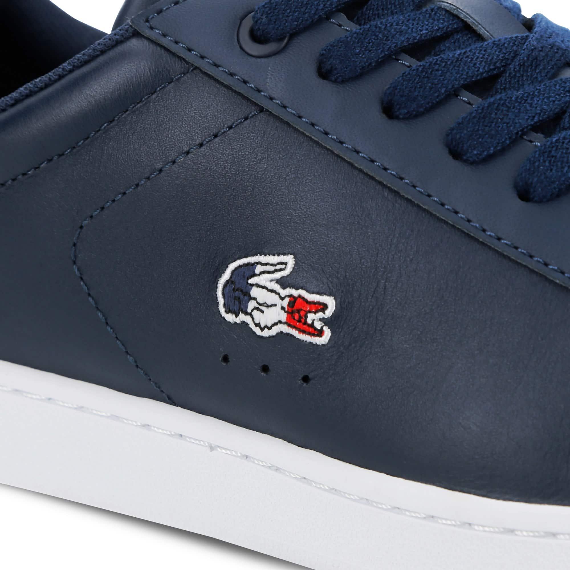 Sneakers Carnaby Cuir En Femme Evo TricoloreLacoste 6vyY7fgb