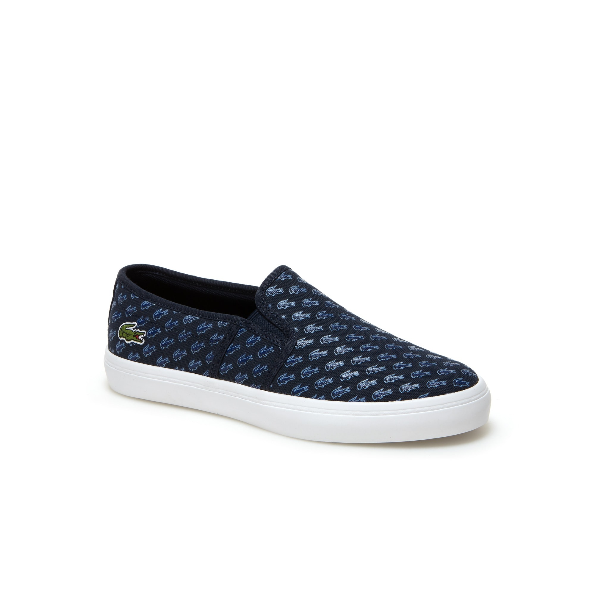 Slip-on Gazon en toile