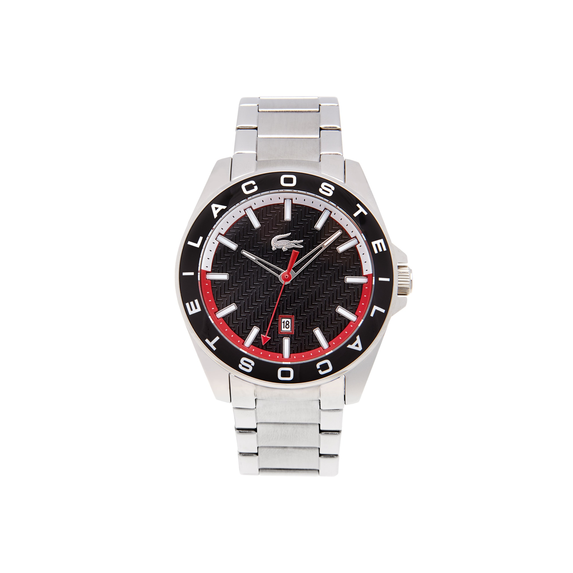 Montre Westport cadran noir - bracelet acier inoxydable