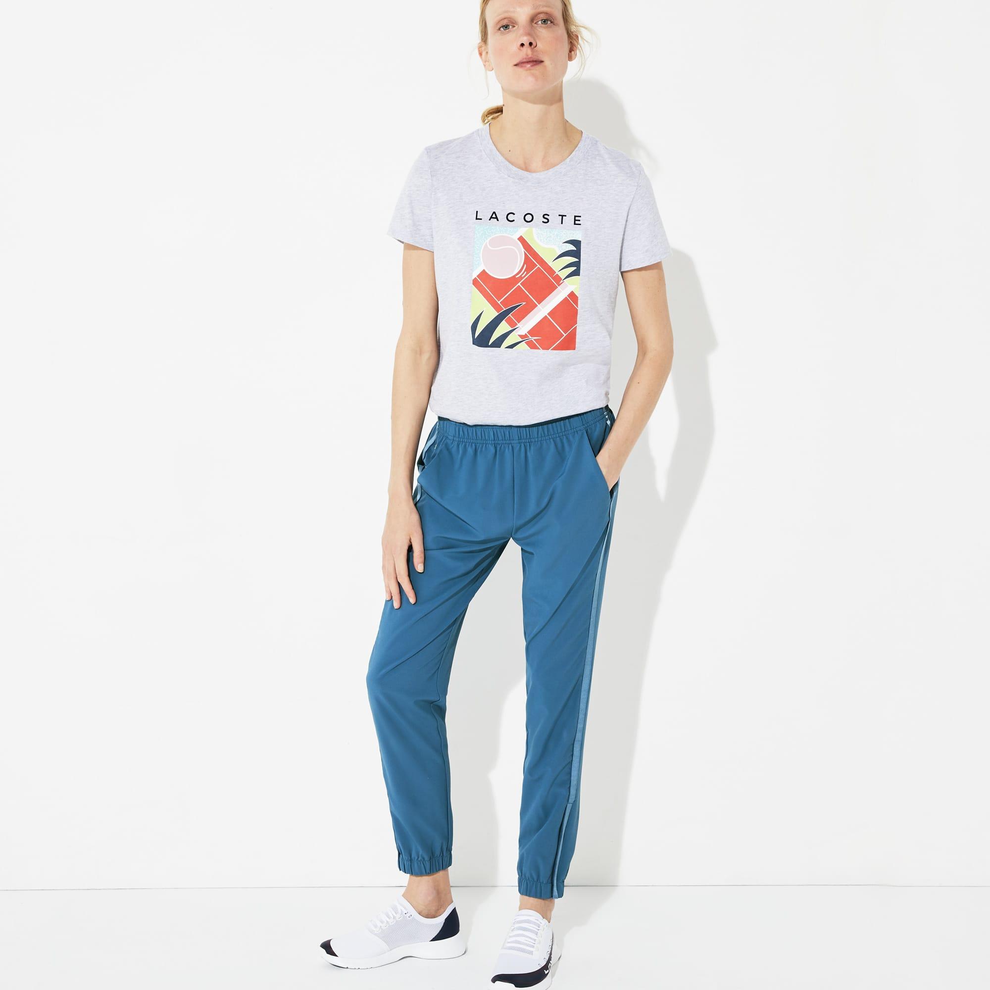 76116de2c6 Pantalon de survêtement Tennis Lacoste SPORT ultra-dry et déperlant