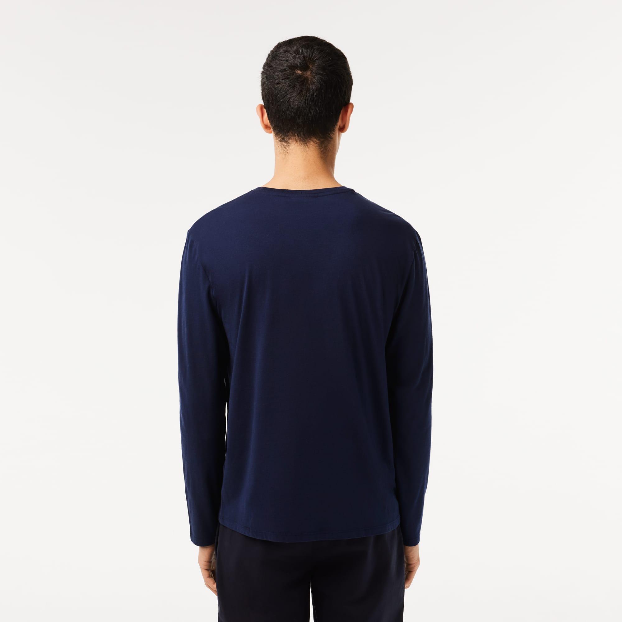Lacoste - T-shirt col rond en jersey de coton pima uni - 2