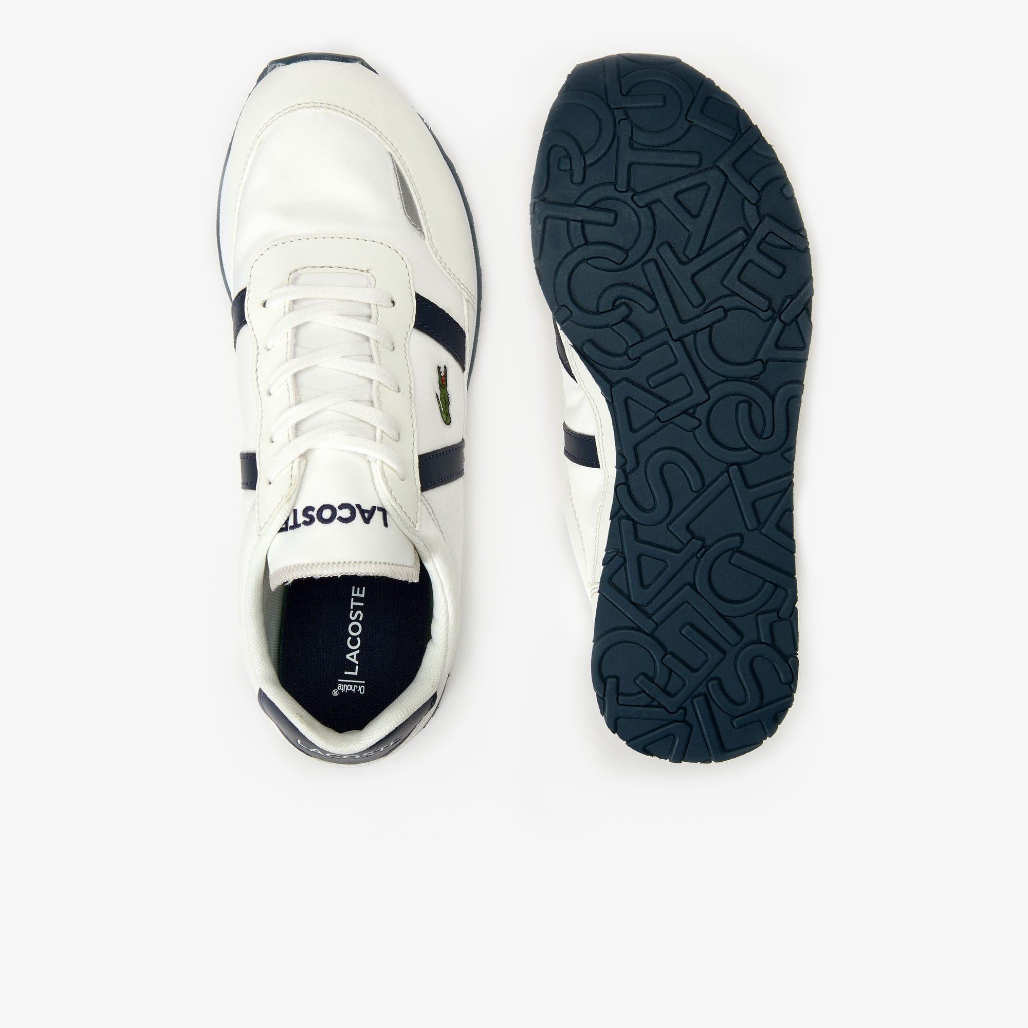 Sneakers Ado Semelle Textile Avec En Synthétique Partner Et Contrastée SVMzpGUq