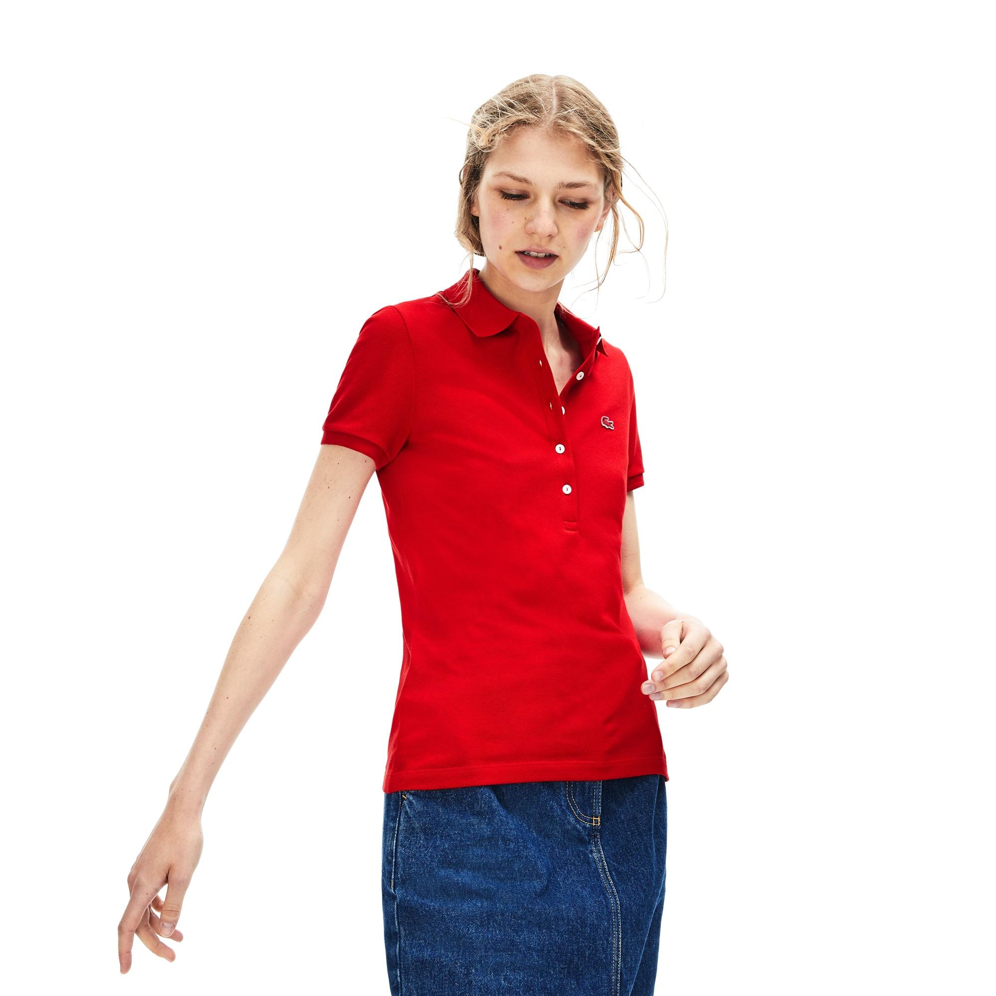 41ccc353aa Polo slim fit Lacoste en mini piqué de coton stretch uni. 95,00 €. + 16  couleurs