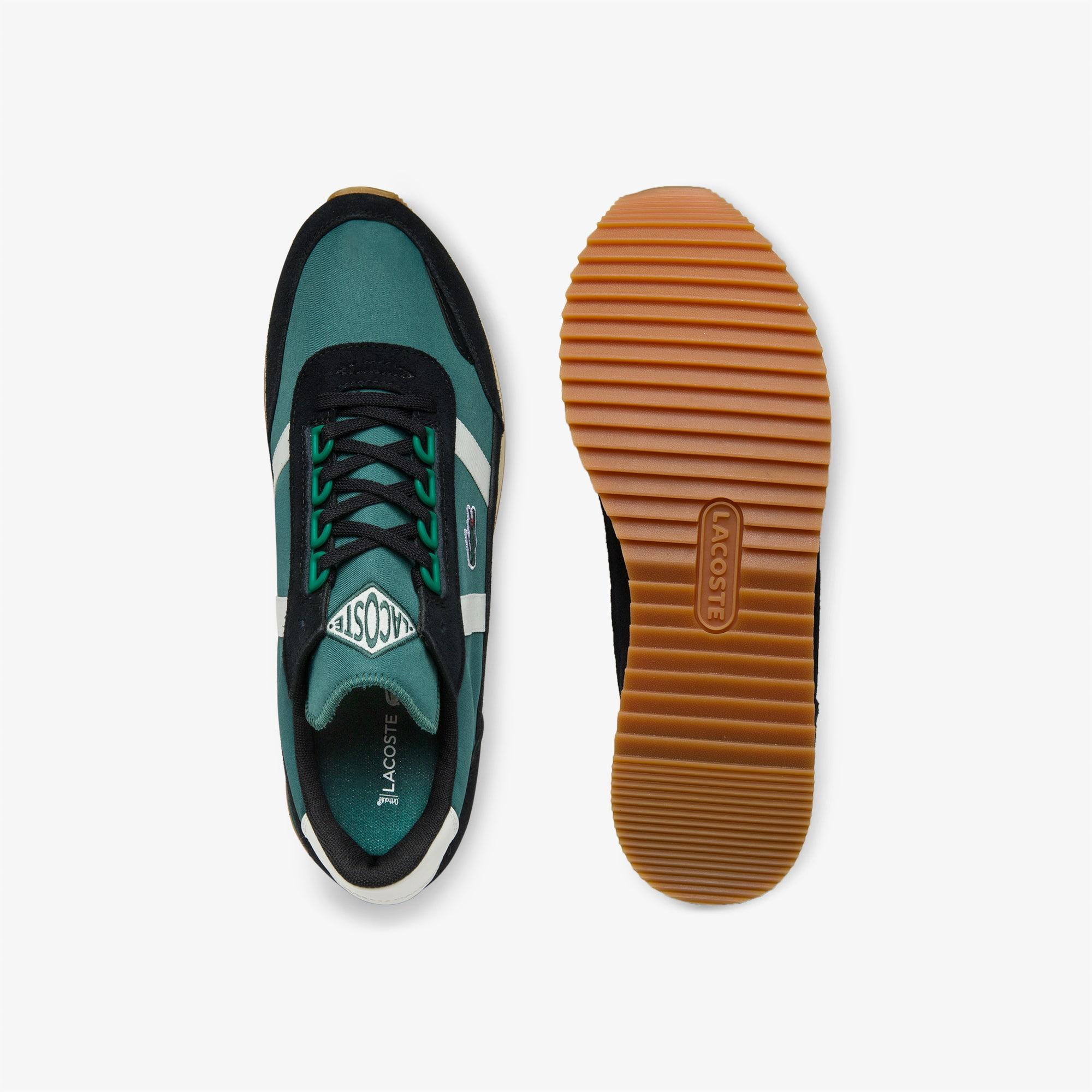 Homme Retro Nylon Partner Suède En Et Sneaker 0wXZON8nkP