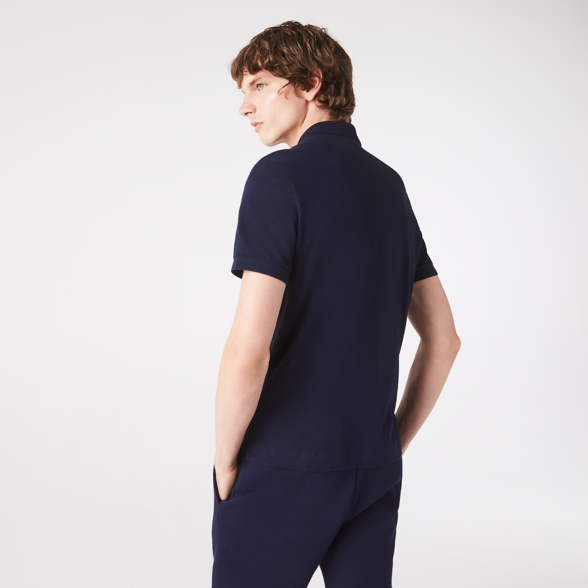 Lacoste - Paris Polo regular fit Lacoste en piqué de coton stretch - 3