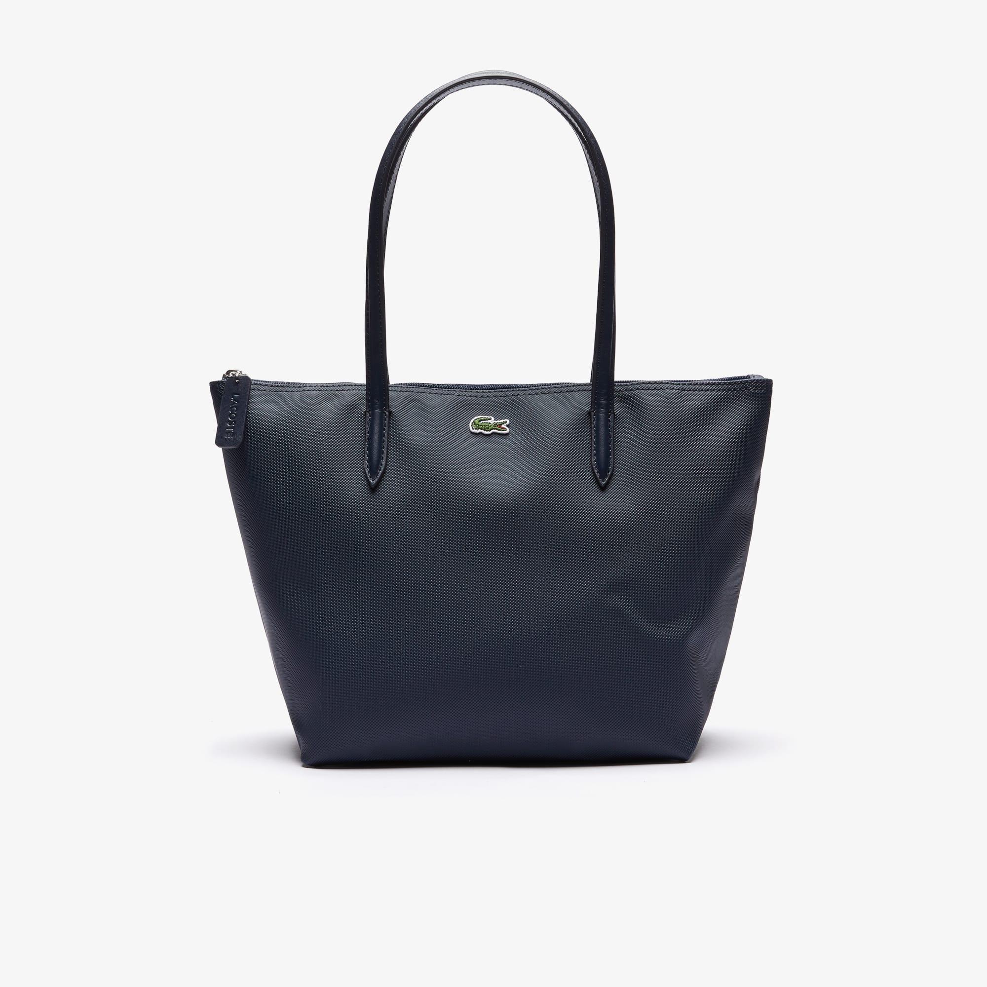 sacs main cuir sacs cabas maroquinerie femme lacoste. Black Bedroom Furniture Sets. Home Design Ideas