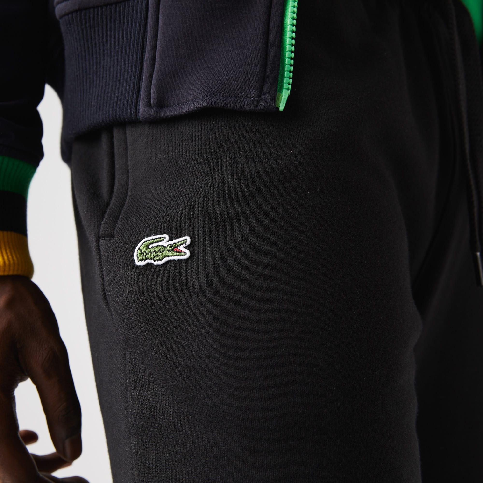 Lacoste Homme Essentiel de Cordon en Coton Pantalon De Jogging Gris Survêtement Pantalon