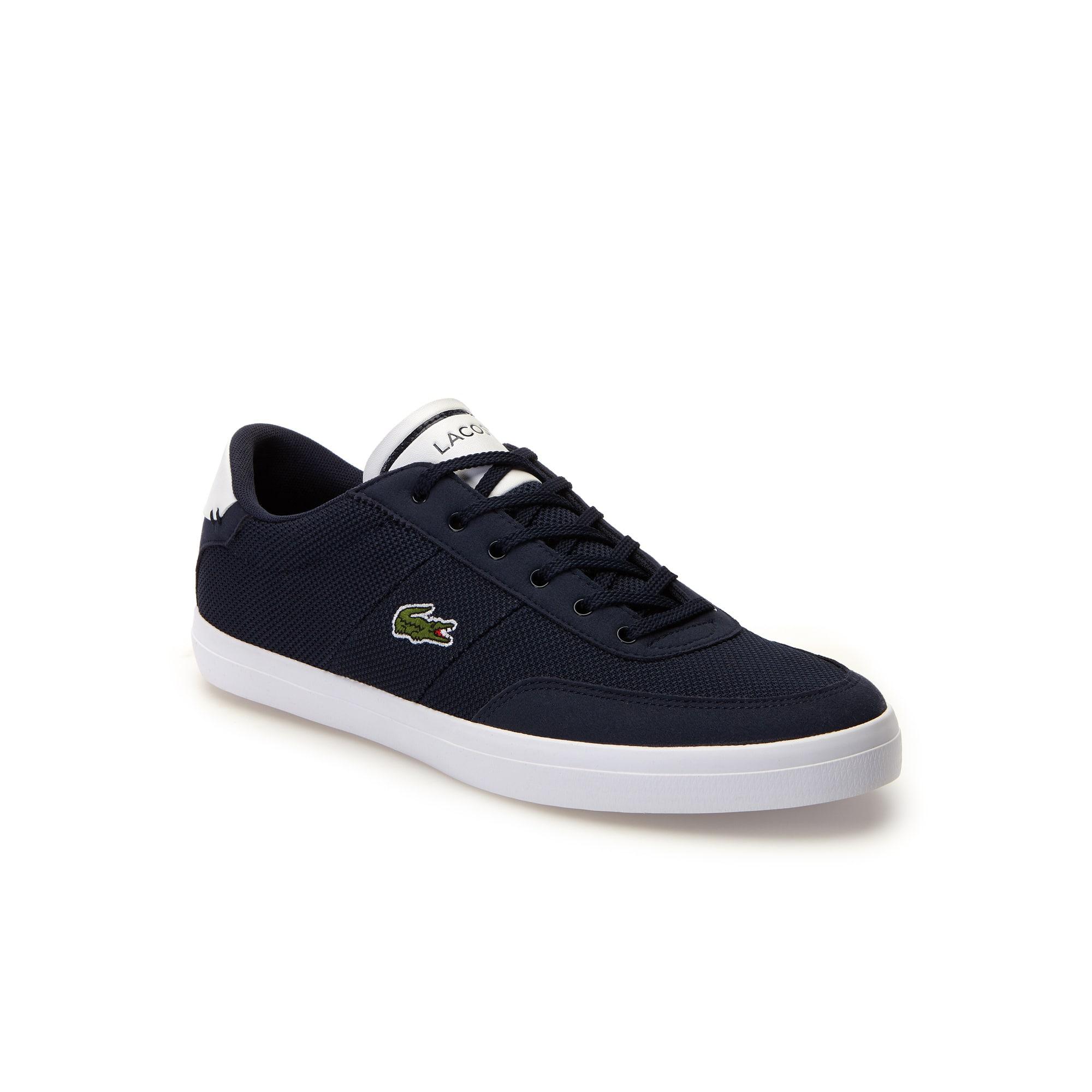 Sneakers Court-Master Suédée en piqué tricot