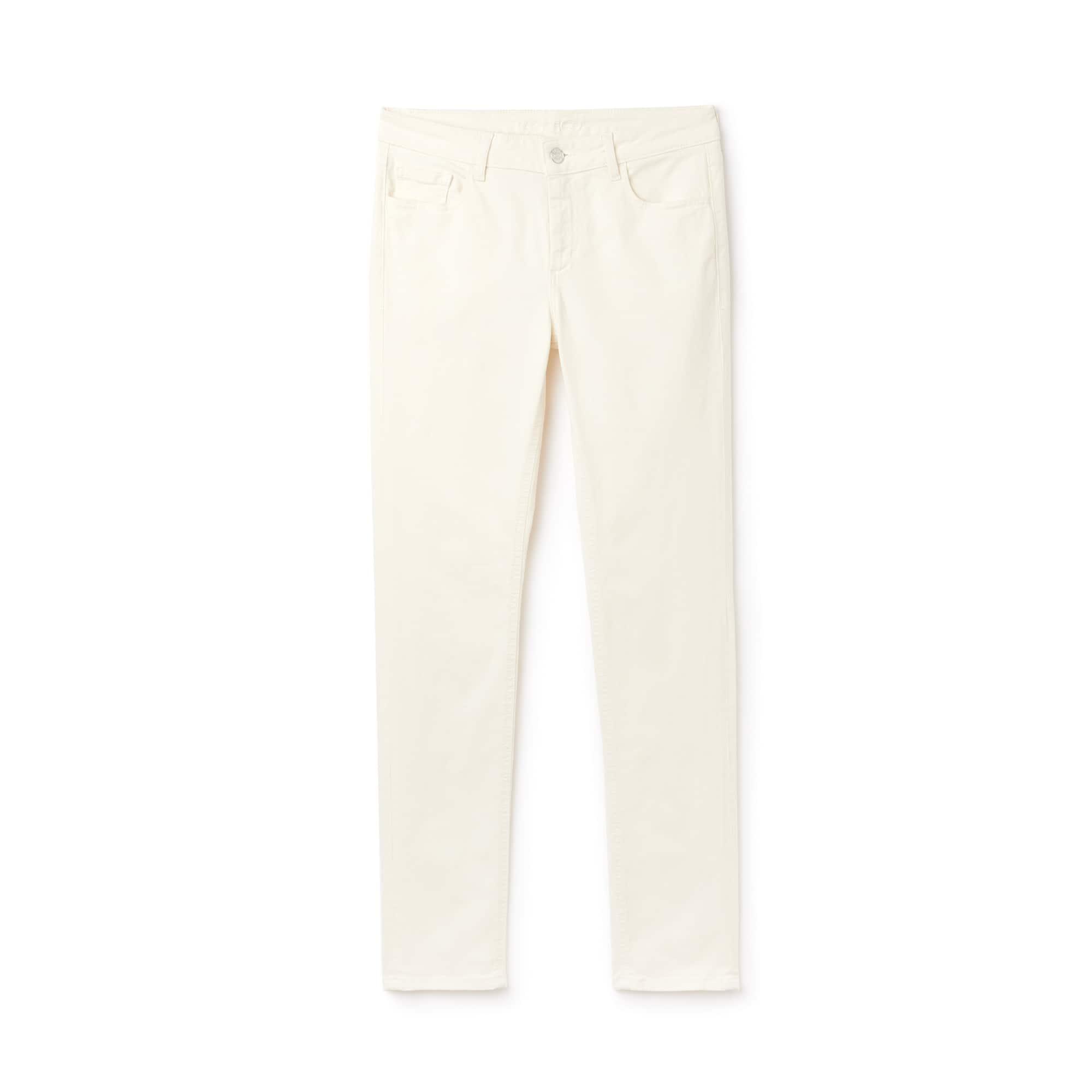 Jean slim en denim de coton stretch