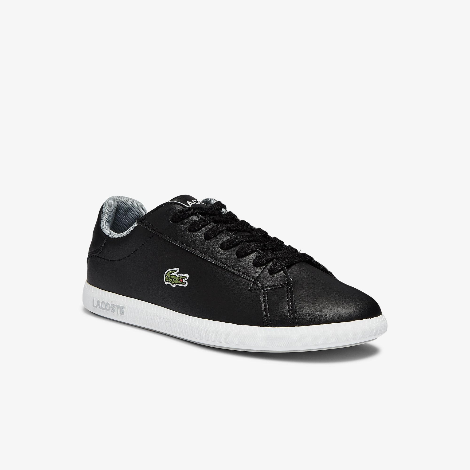 Lacoste Sneakers Graduate junior synthétique Taille 35 Noir/gris