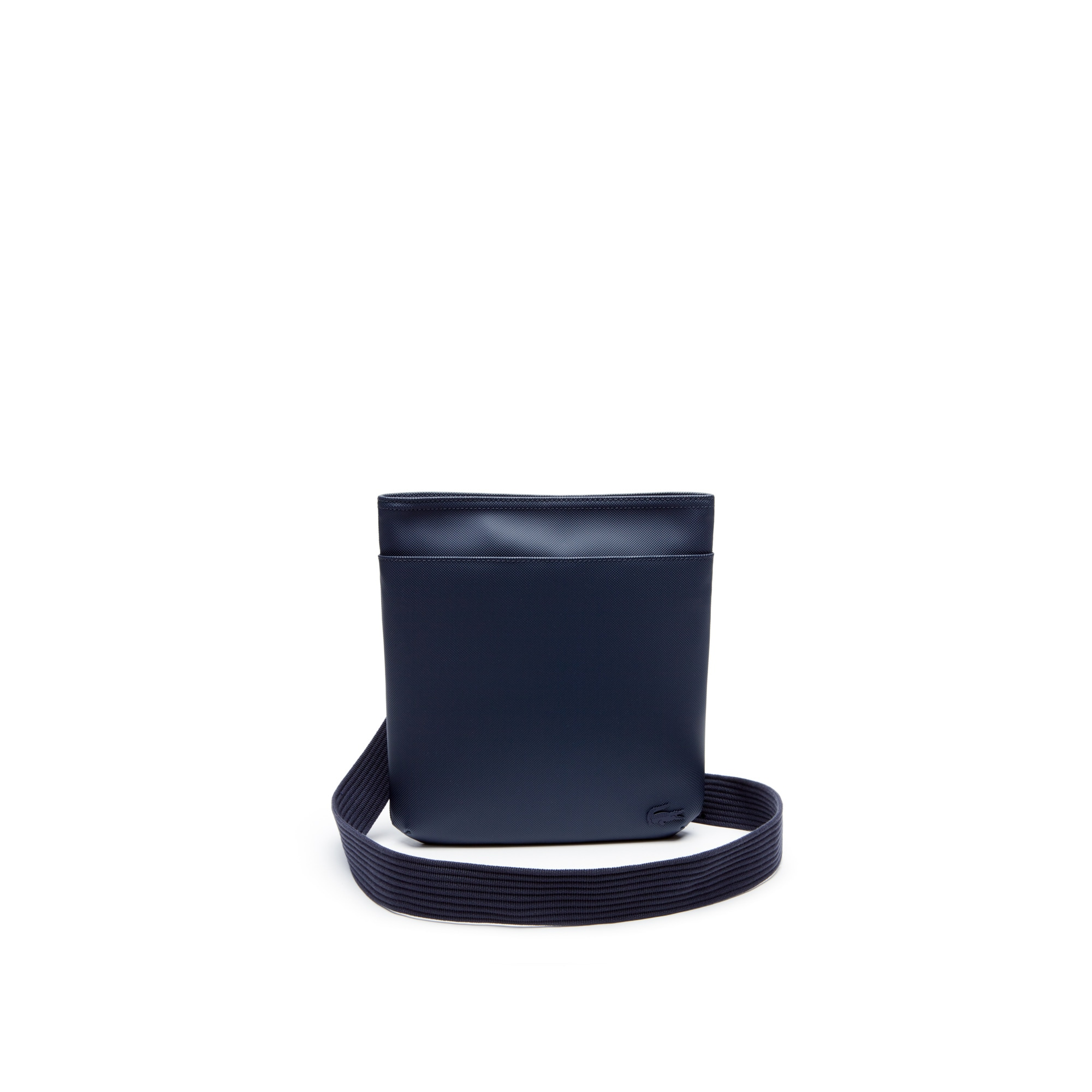 Sacoche plate Men's Classic en petit piqué uni