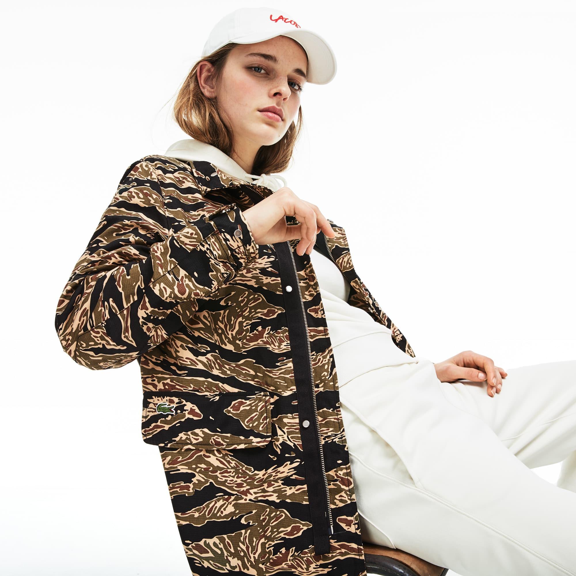 Lacoste Parka Camouflage Live Unisexe Imprimé O7w5qxCw1