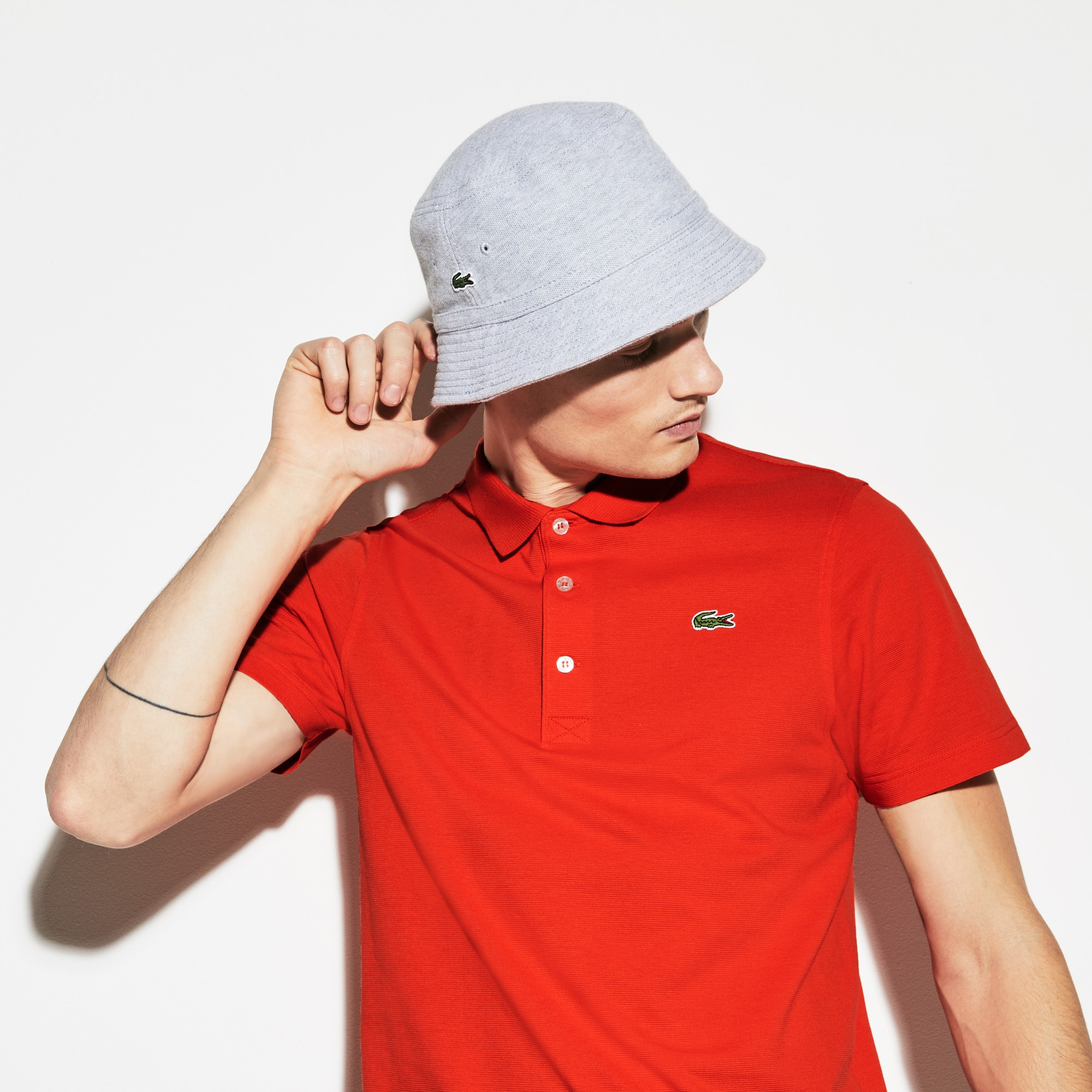 Polo regular fit Tennis Lacoste SPORT en maille ultra-légère