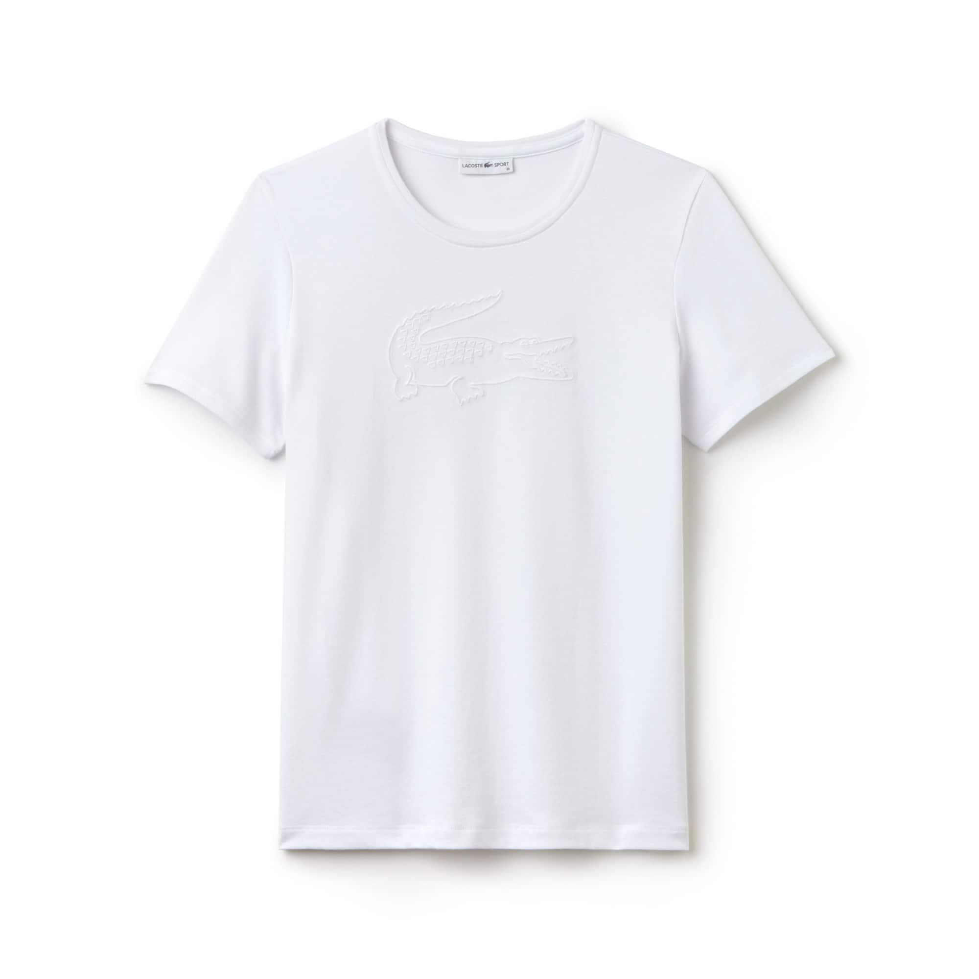 T-shirt Tennis Lacoste SPORT en jersey technique avec broderie crocodile