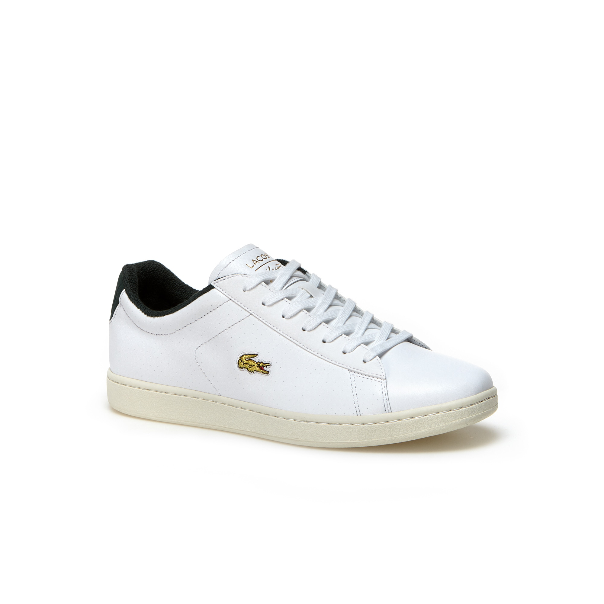 Sneakers Carnaby Evo en cuir et croco or