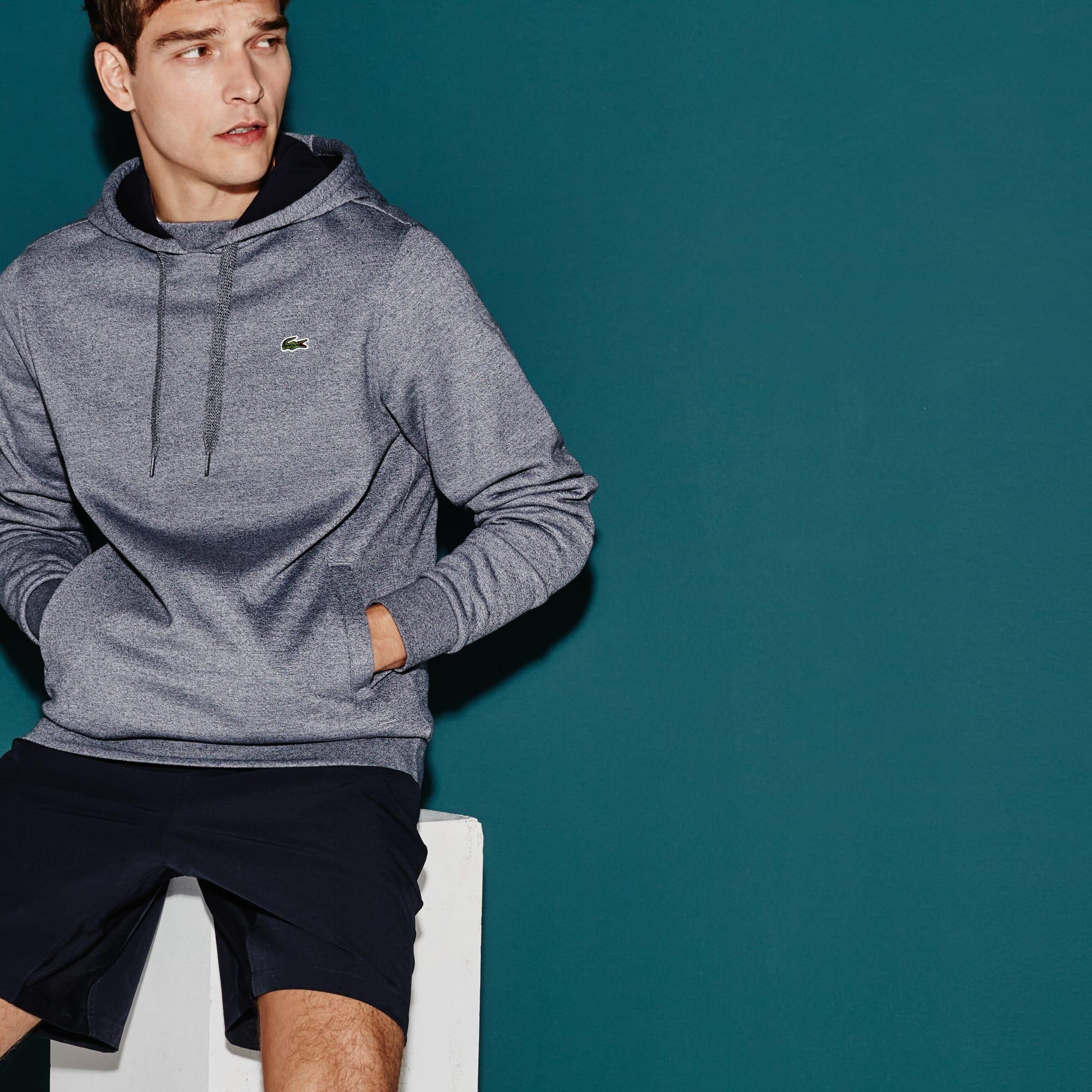 Sweatshirt en molleton à capuche Tennis Lacoste SPORT