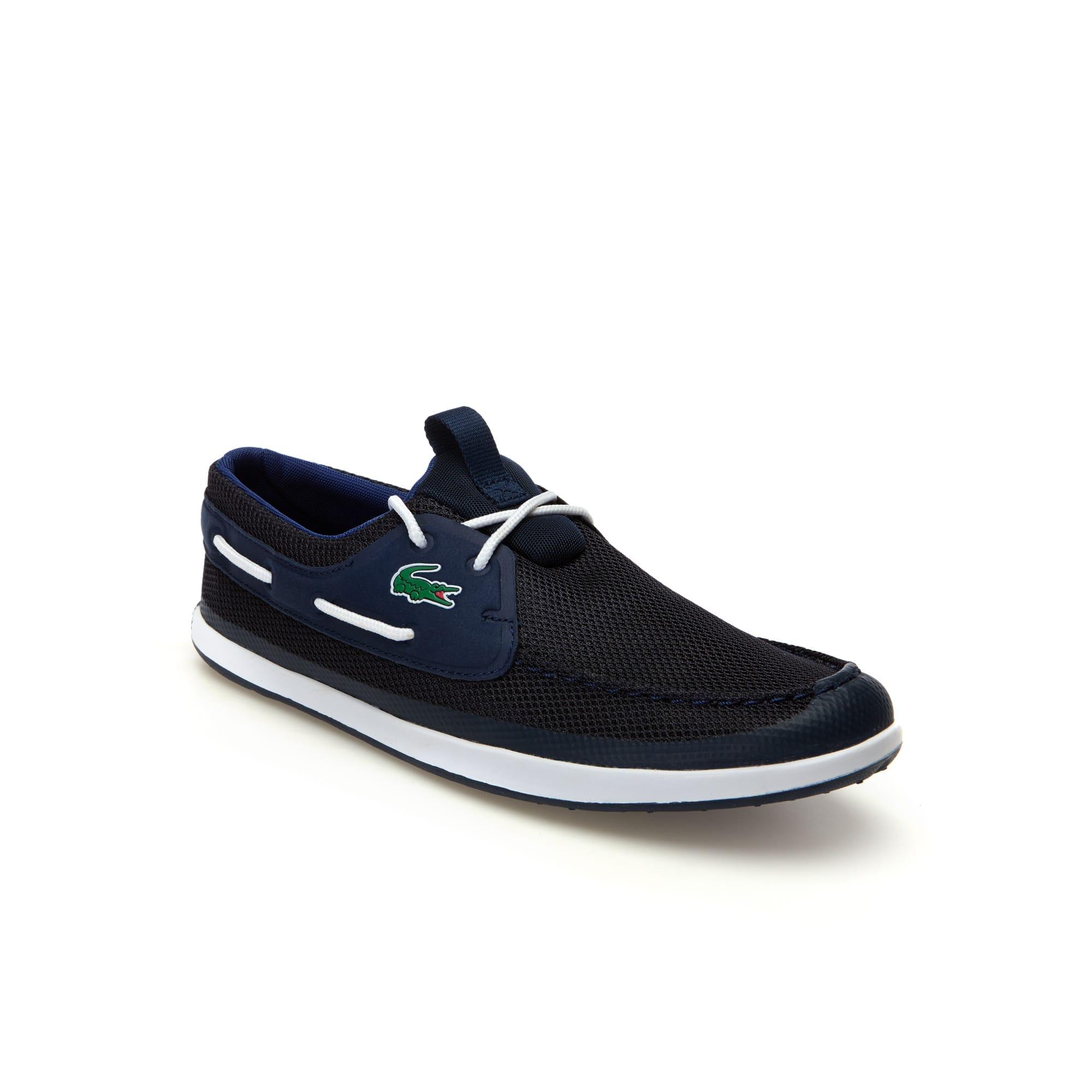 Chaussures bateau L.andsailing en textile