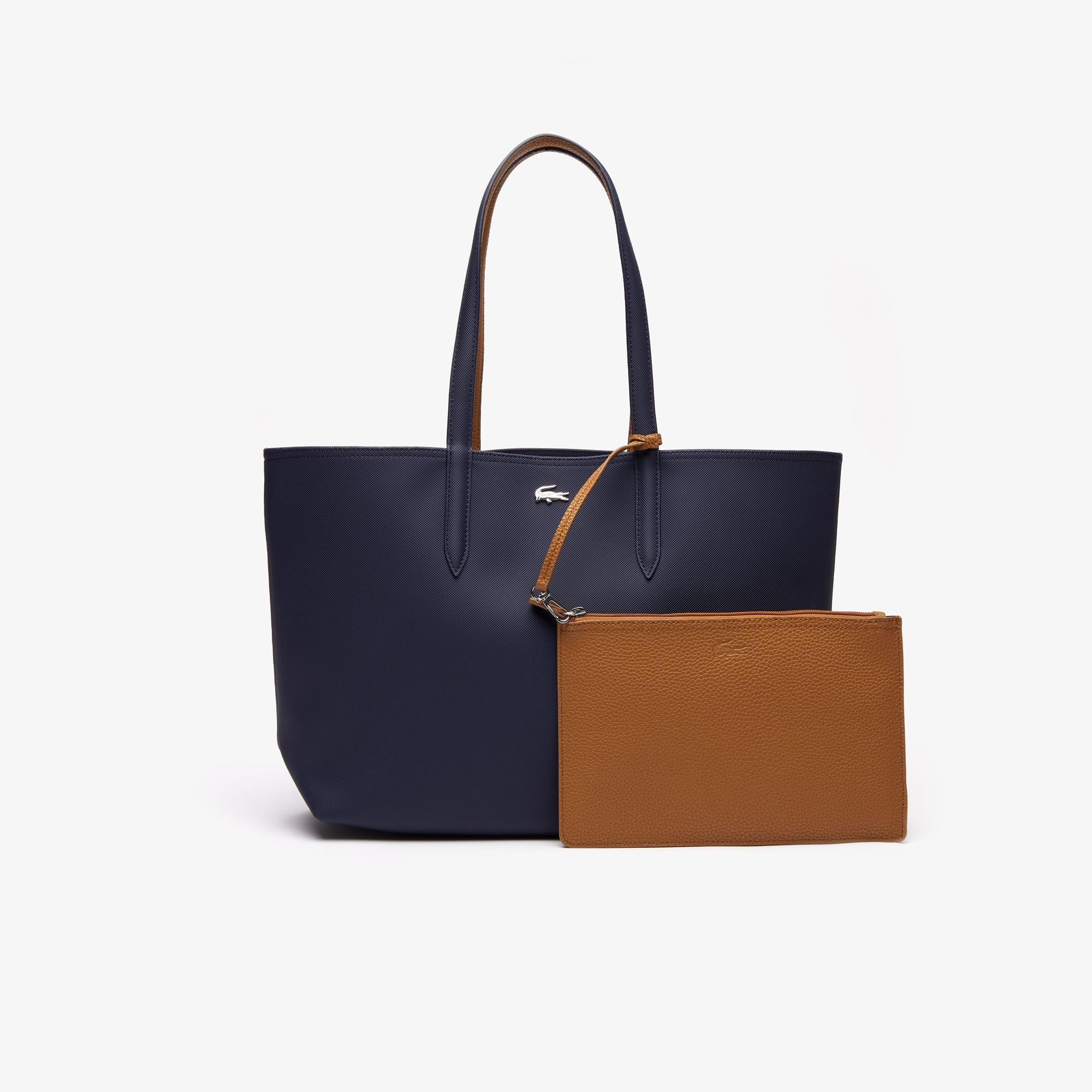 5fcaef299f Sacs à main cuir, sacs cabas | Maroquinerie femme | LACOSTE