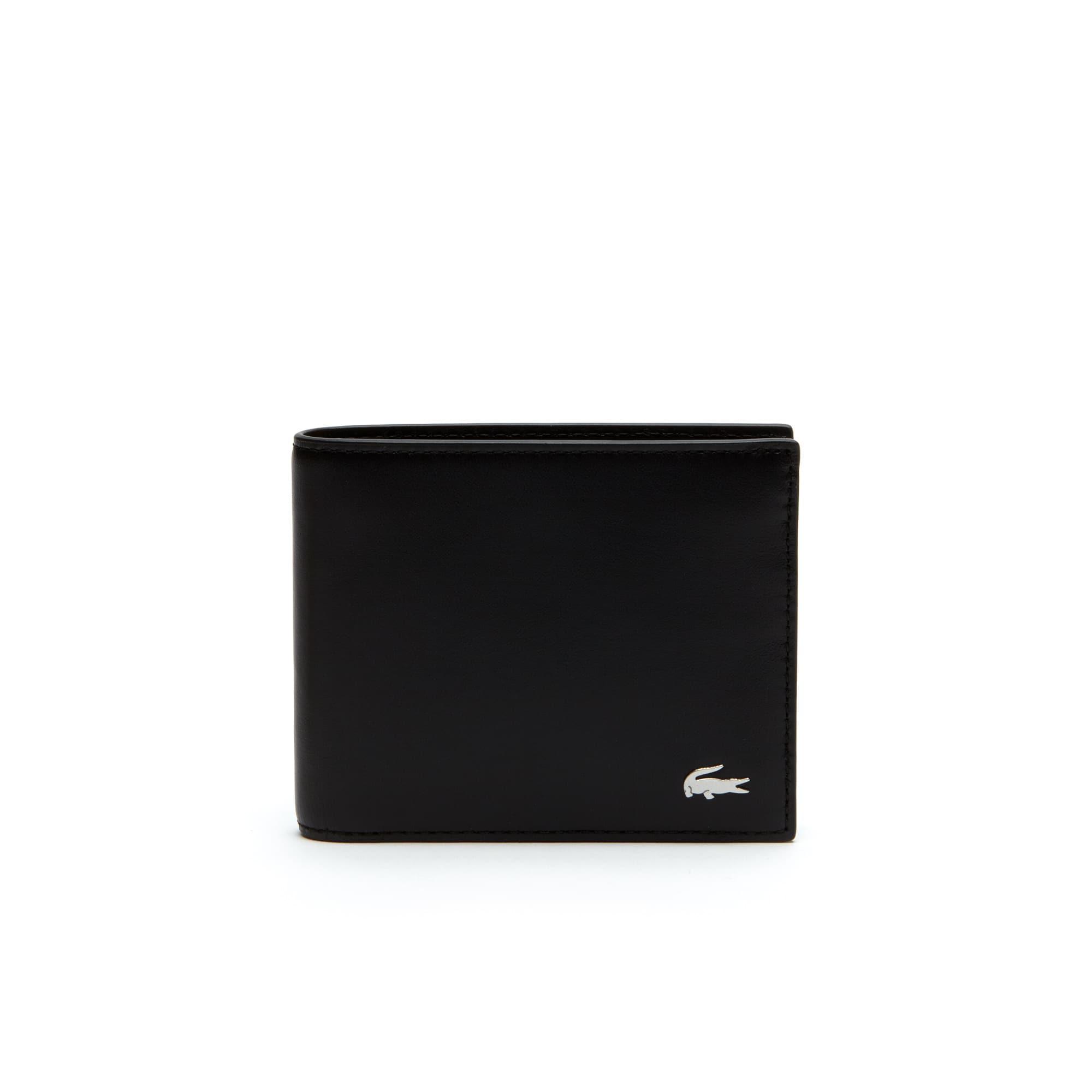 Coffret portefeuille et porte-clés Fitzgerald en cuir uni
