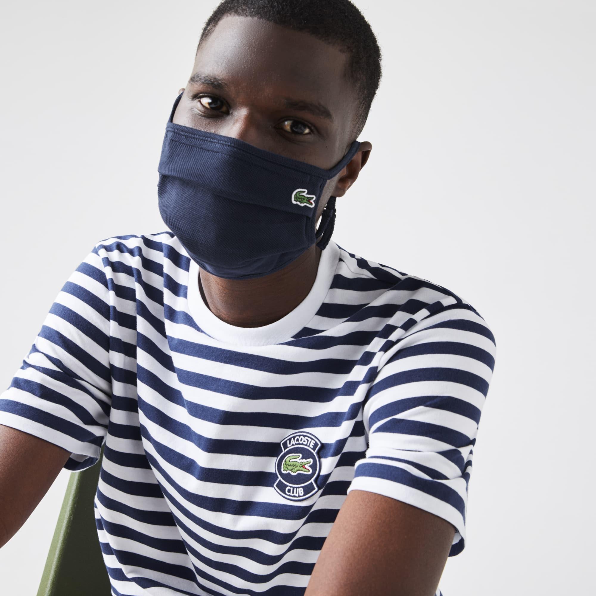 Lacoste Masque de protection visage ajustable L.12.12 Taille 6 - M Bleu Marine