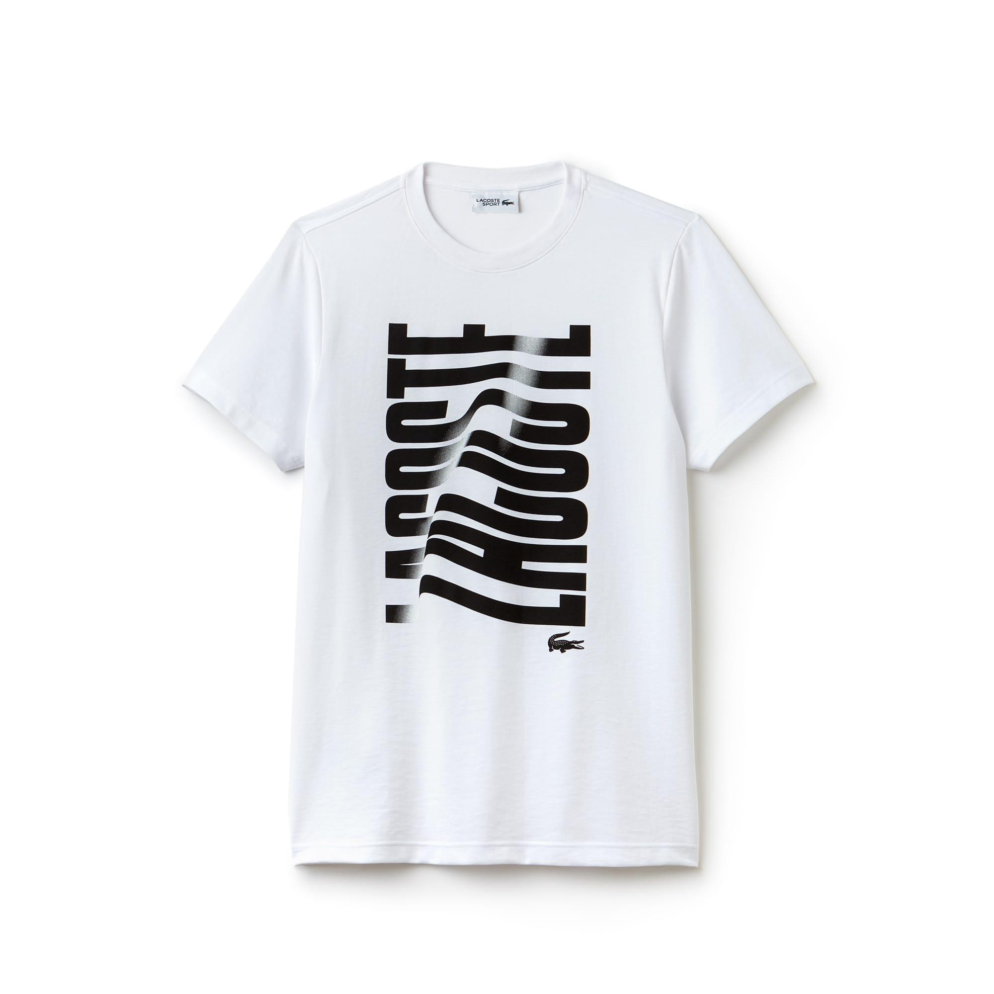 T-shirt Tennis Lacoste SPORT en jersey technique imprimé Lacoste