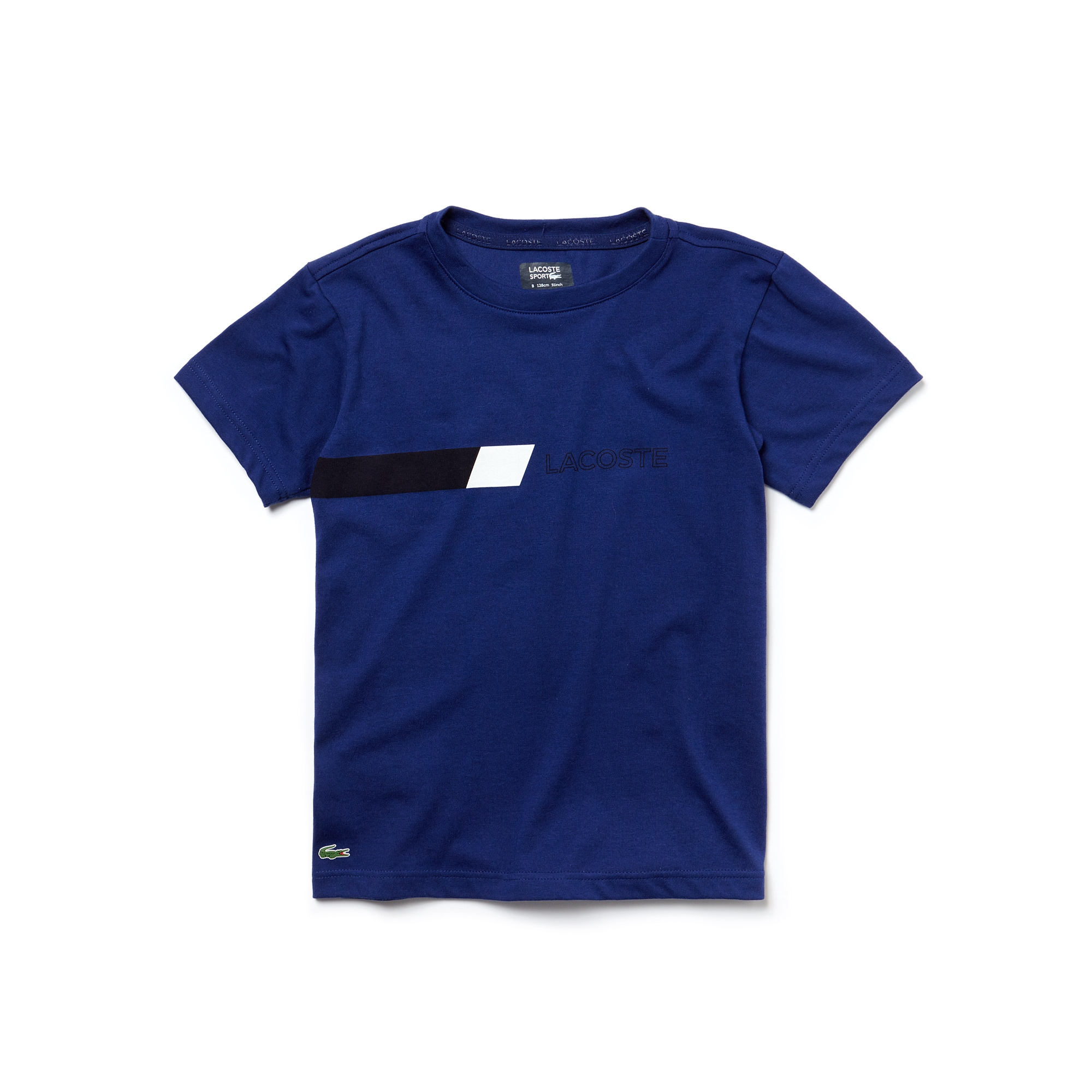 T-shirt Garçon Tennis Lacoste SPORT en jersey détail color block