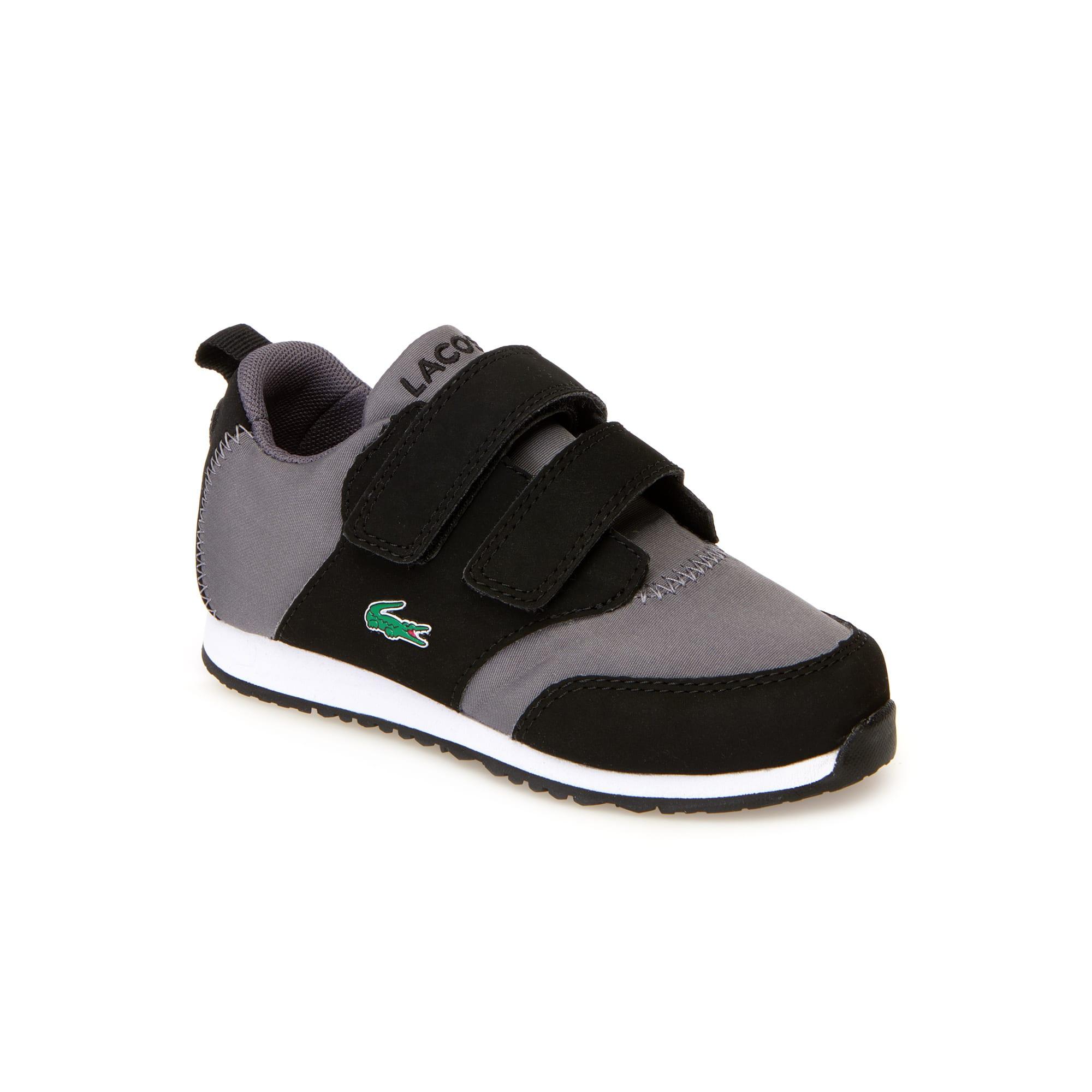 Sneakers L.ight bébés en textile et synthétique