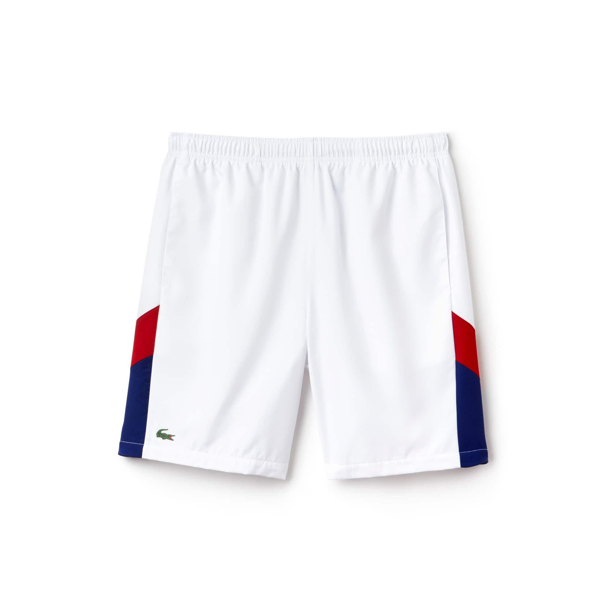 Short Tennis Lacoste SPORT avec bandes color block
