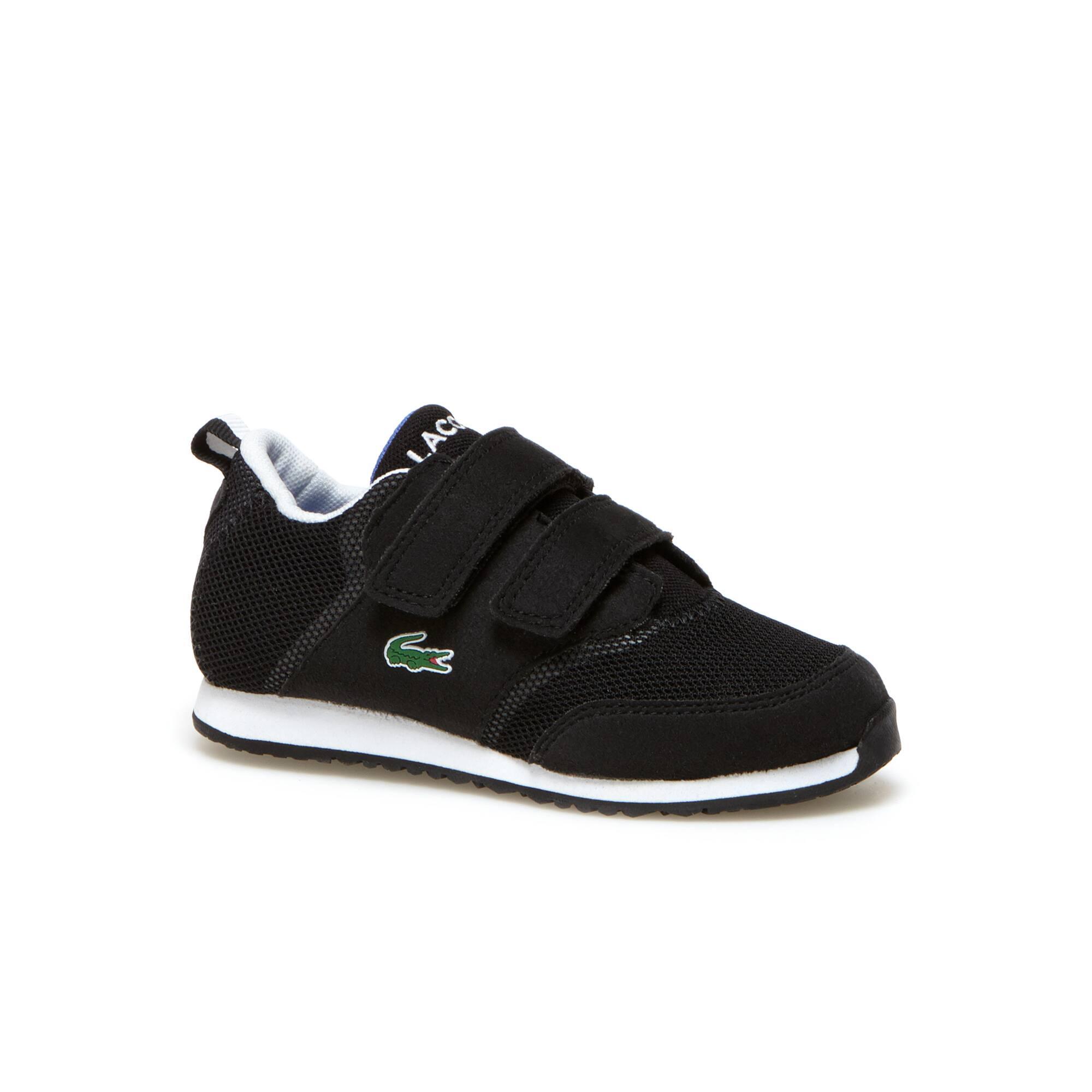 Sneakers Enfant L.IGHT en toile aérée à scratchs