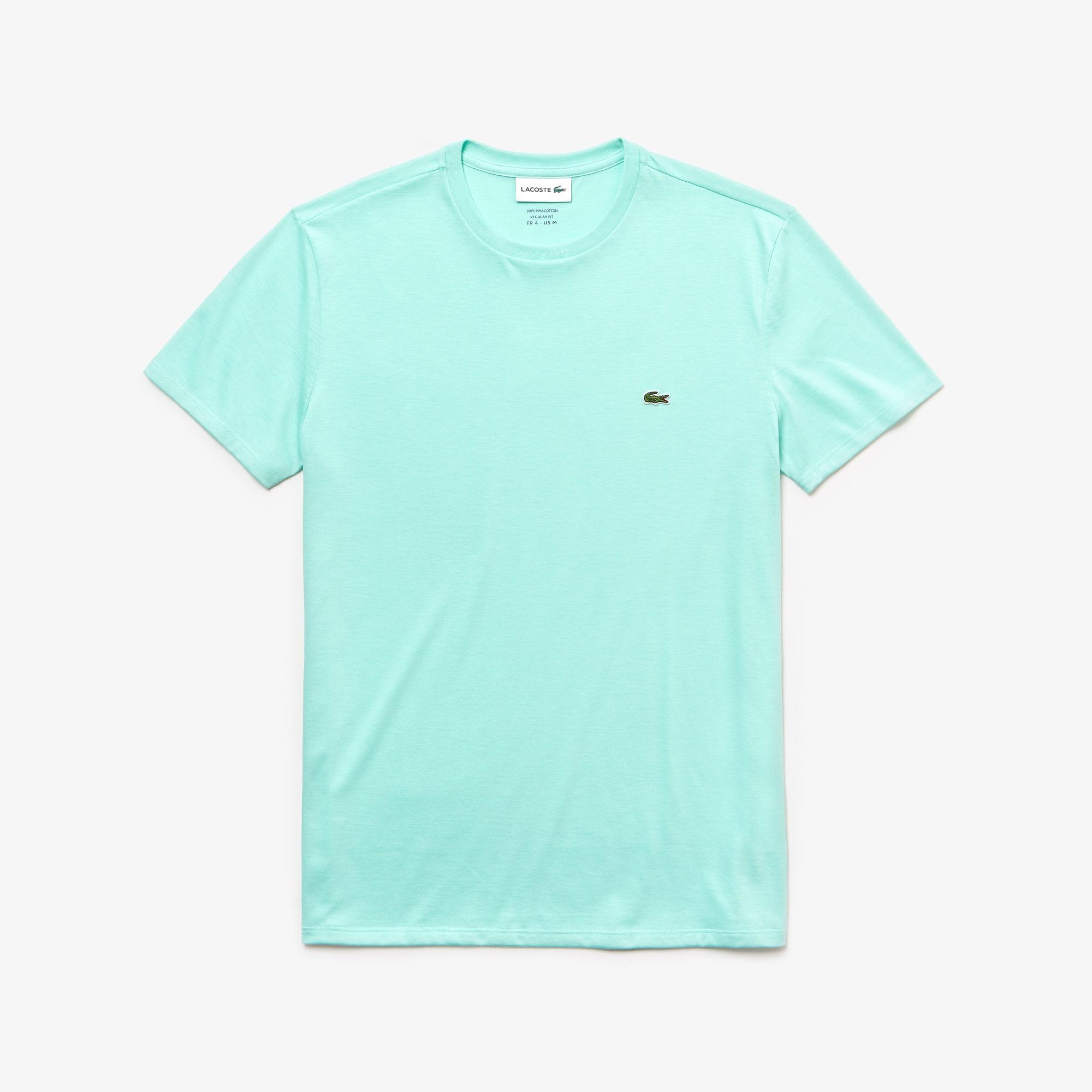 T-shirt col rond en jersey de coton pima uni c74611a17105