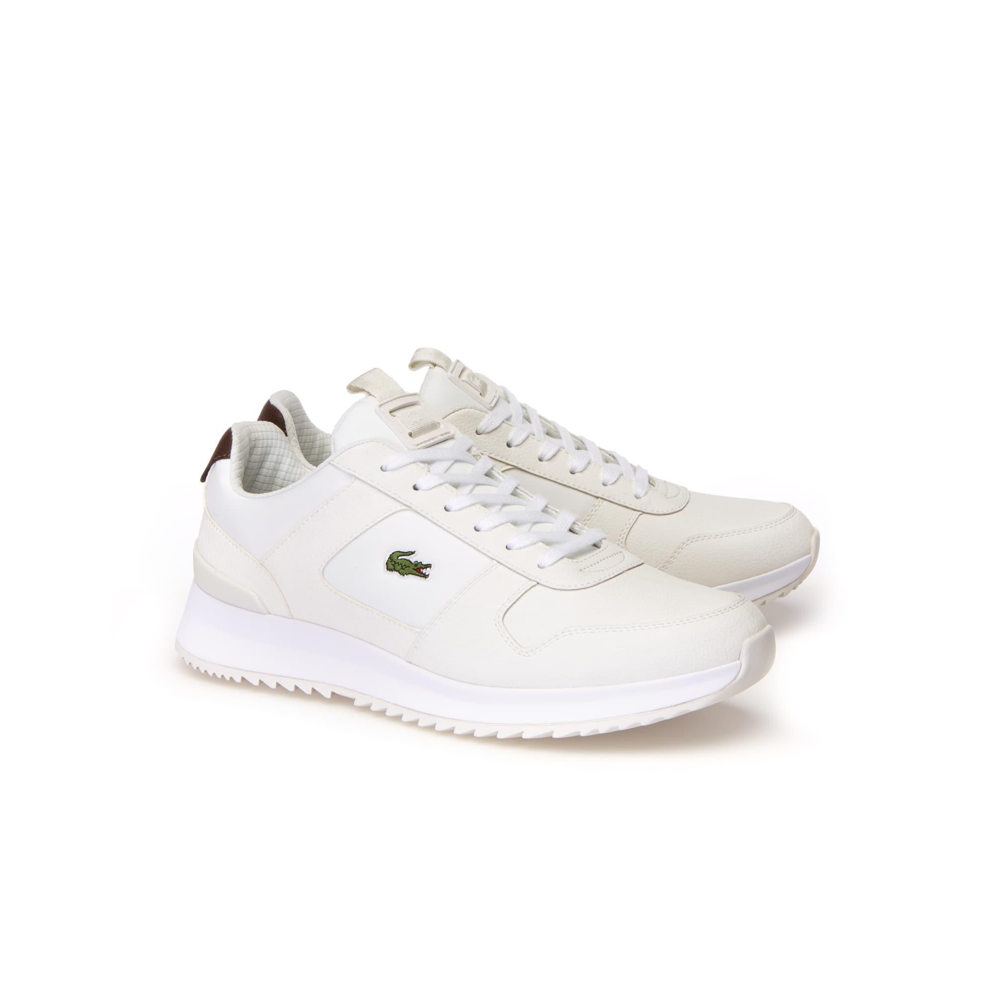 242e9a4125270 Sneakers Joggeur 2.0 homme en cuir   LACOSTE