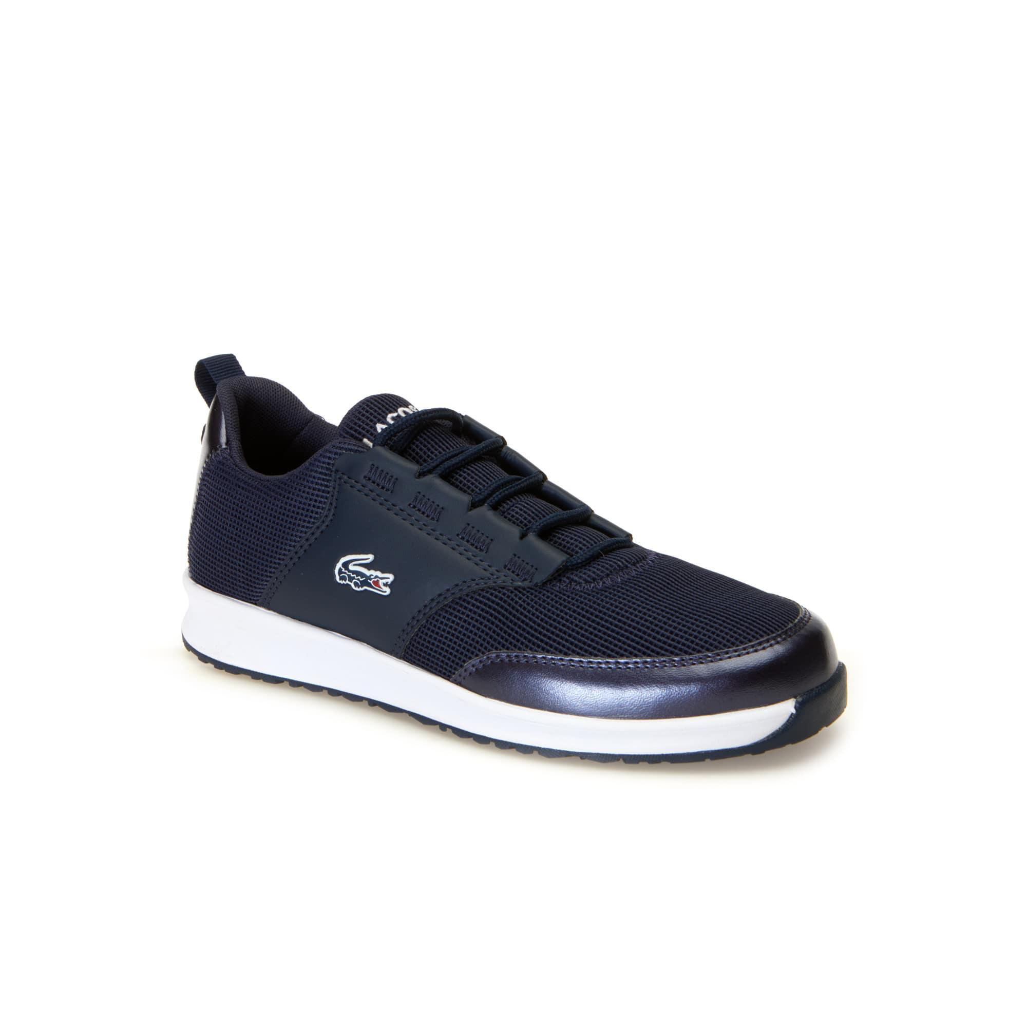 Sneakers L.ight enfant couleur métallique en textile et synthétique