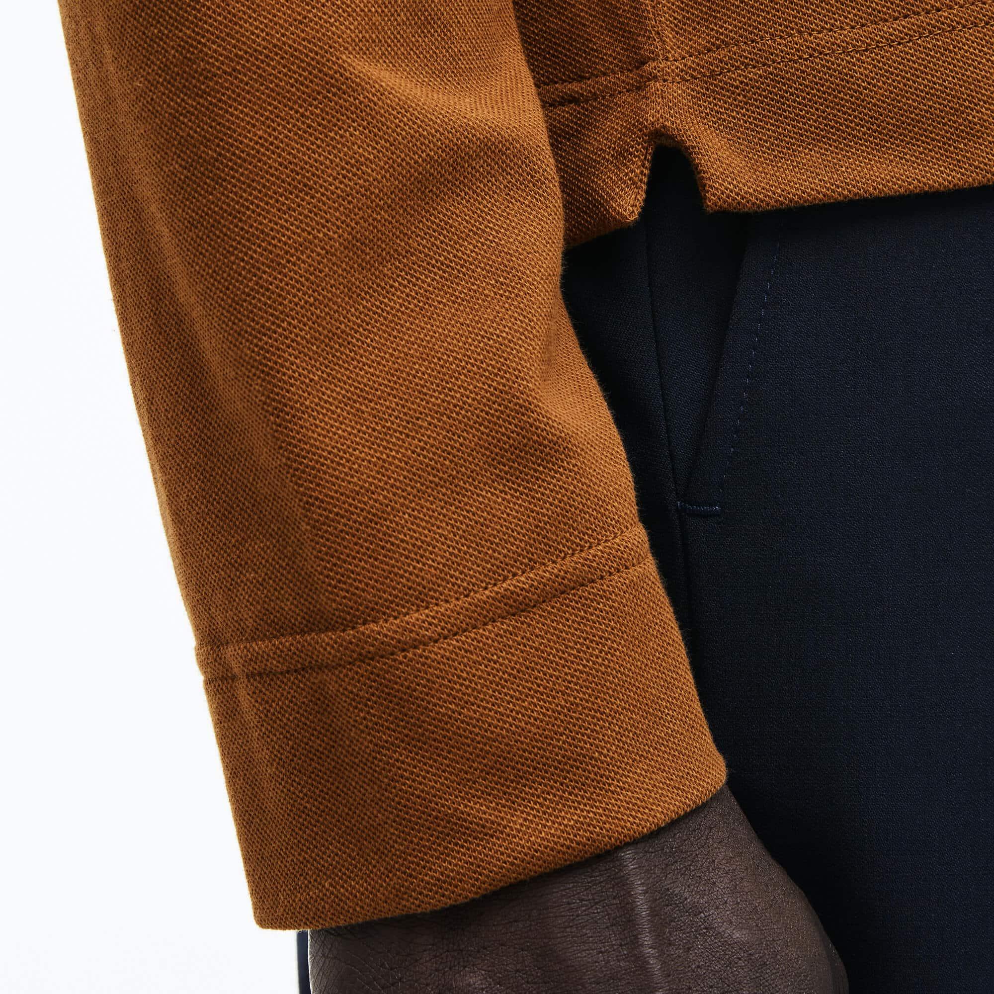 Lacoste - Paris Polo Regular Fit Lacoste à manches longues en piqué de coton stretch - 5
