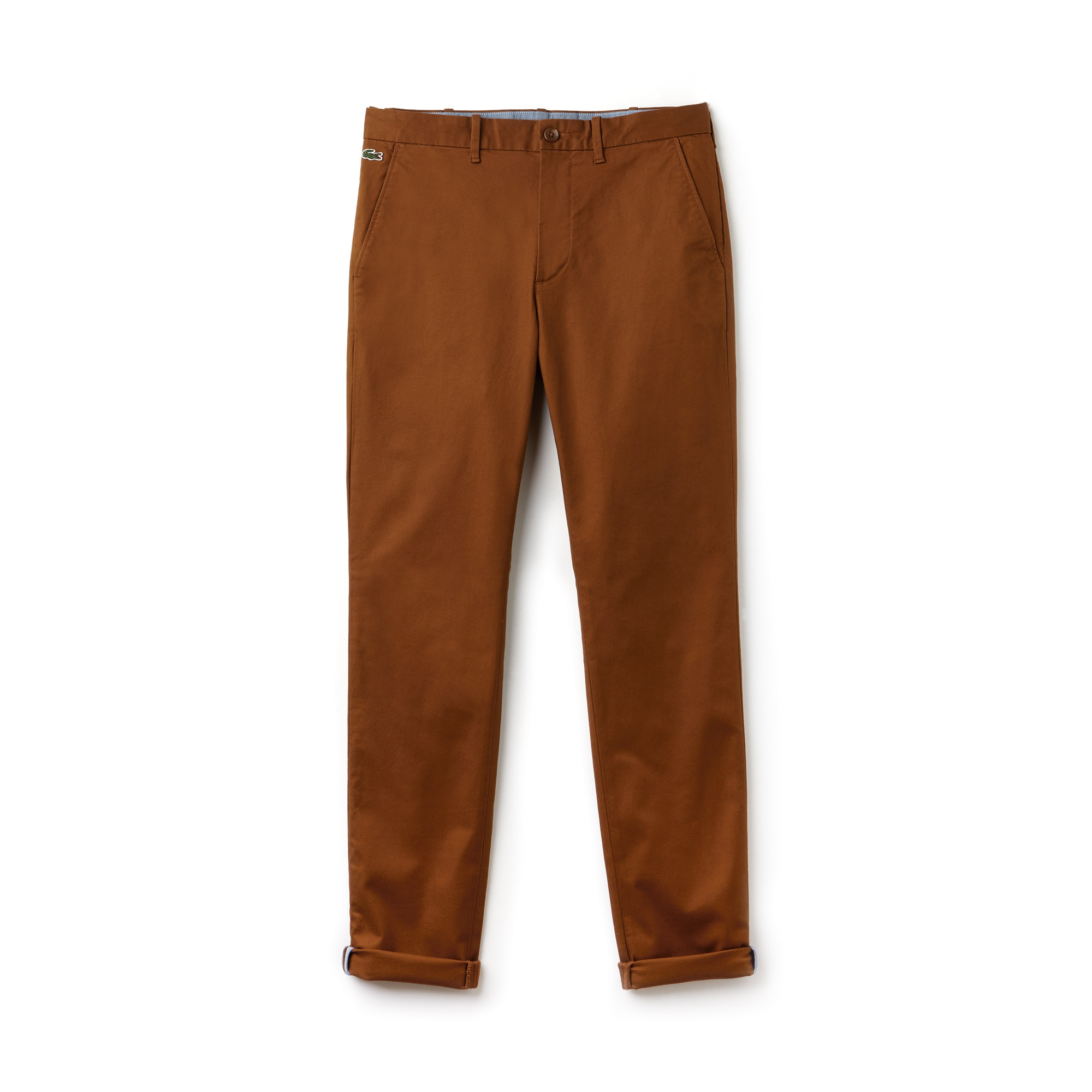 Pantalon chino Lacoste LIVE en twill stretch uni