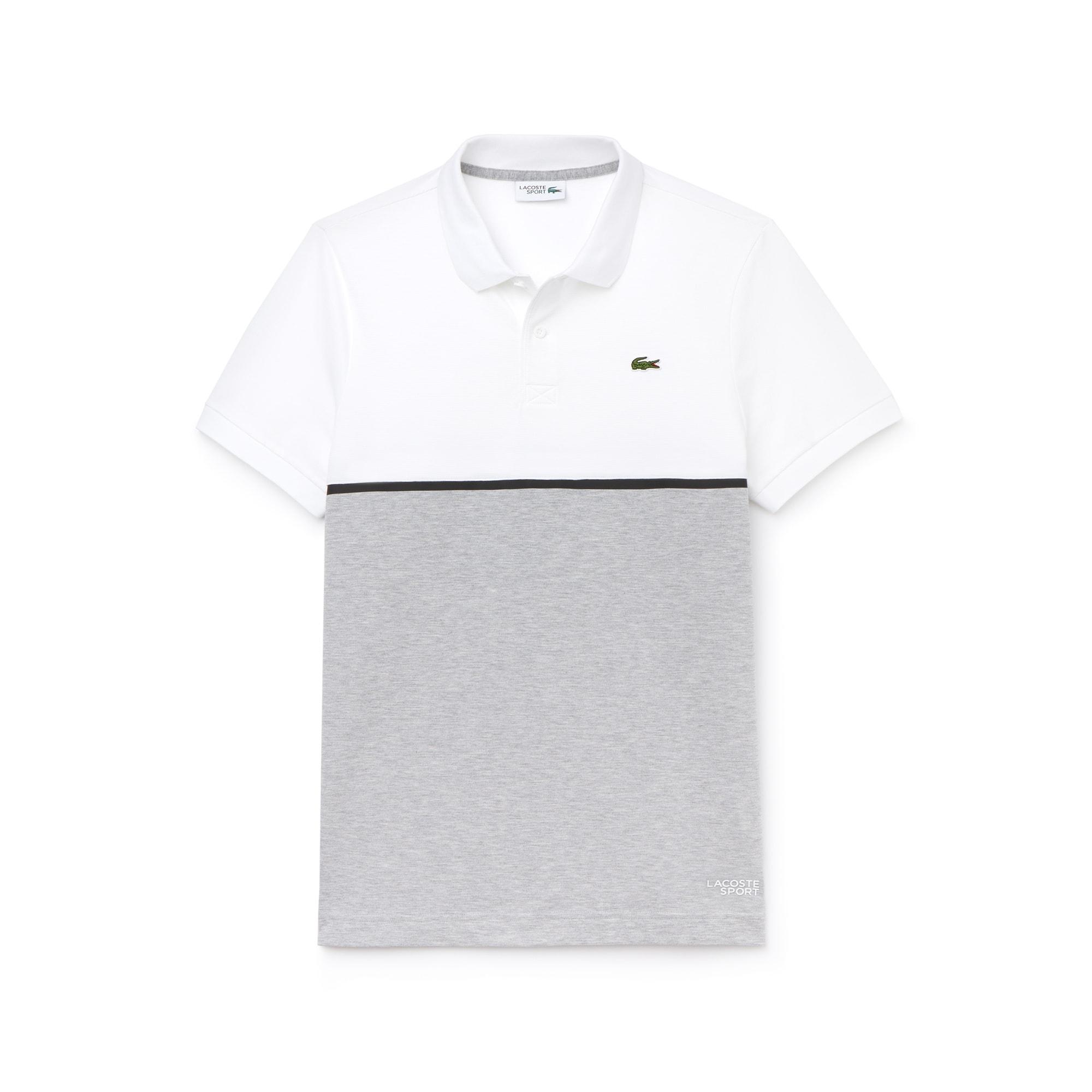d0c154c36e Polo Tennis Lacoste SPORT en coton ultra léger color ...