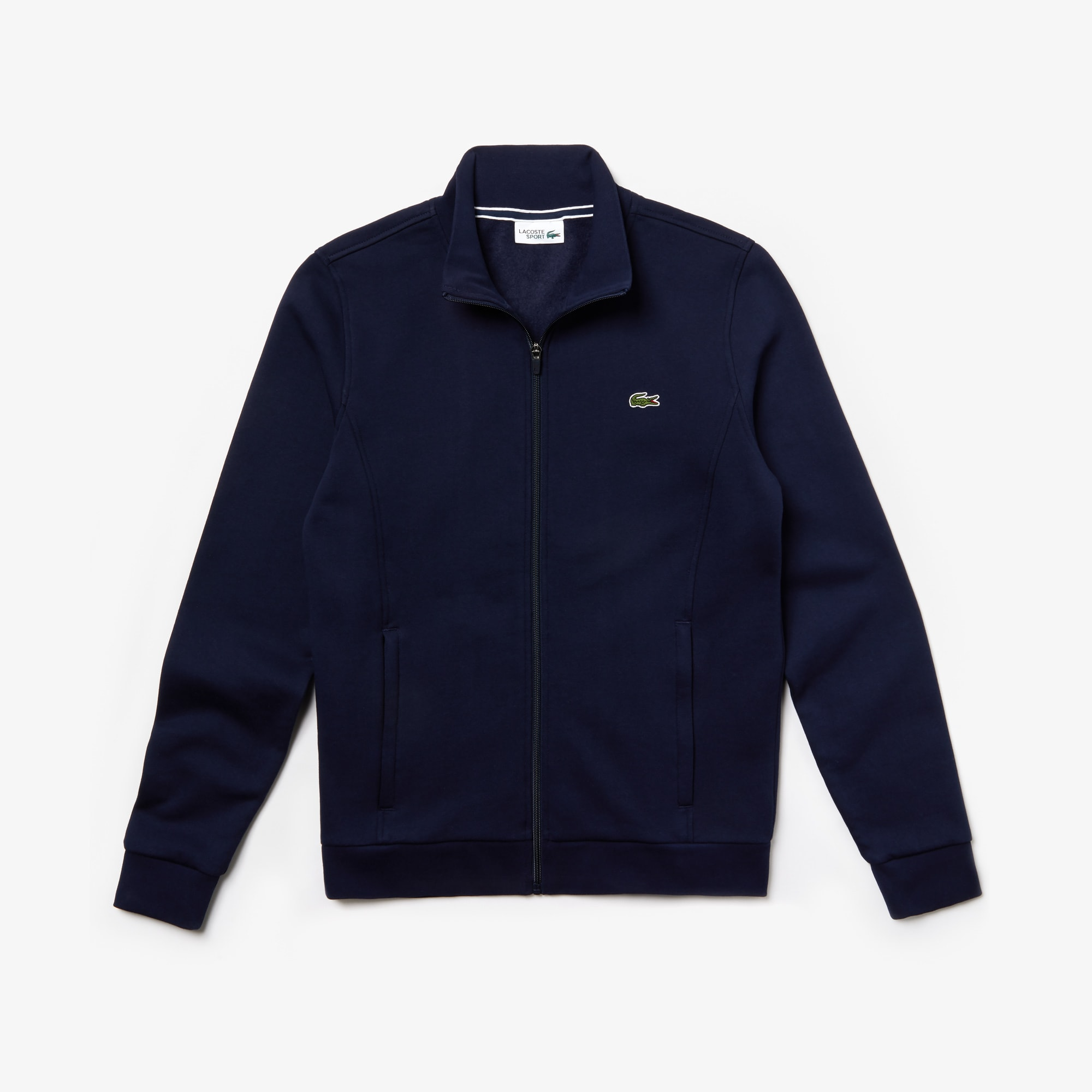 Sweat Lacoste SPORT zippé en molleton