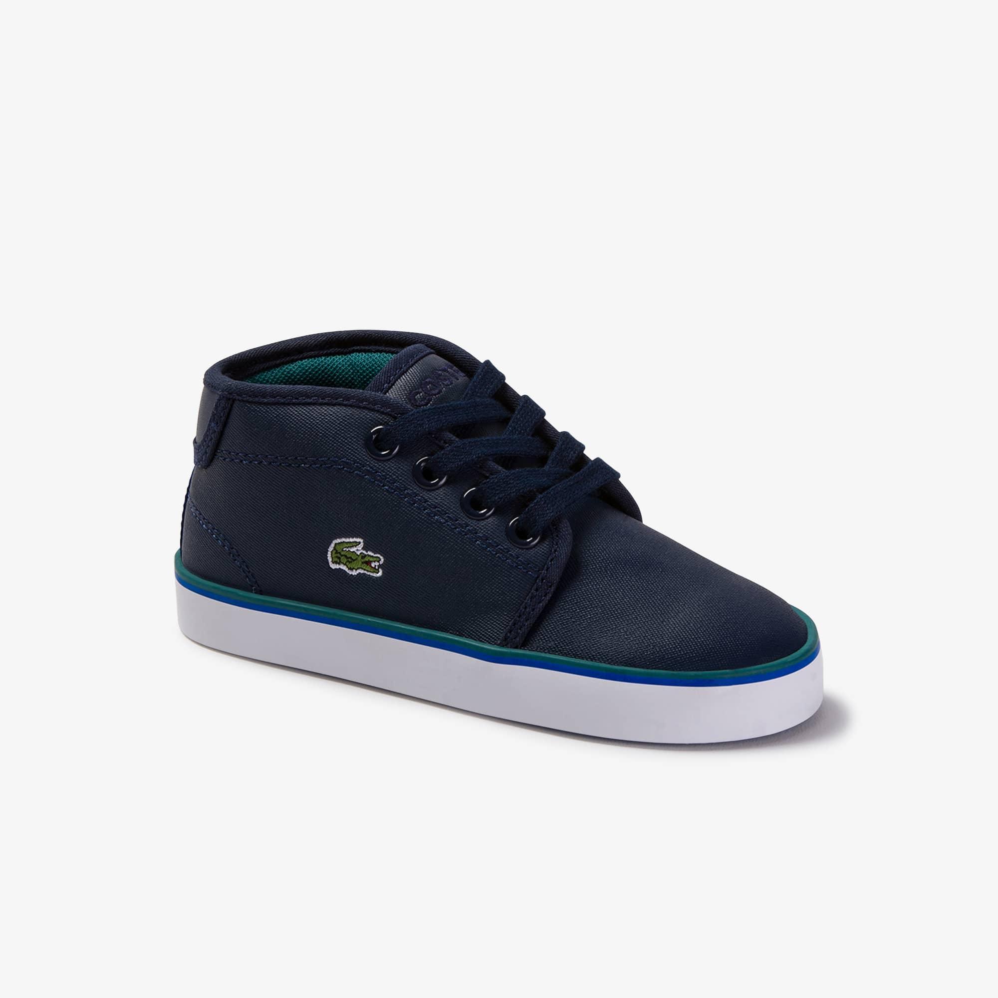 Lacoste Sneakers Ampthill bébé en synthétique Taille 21 Marine/vert