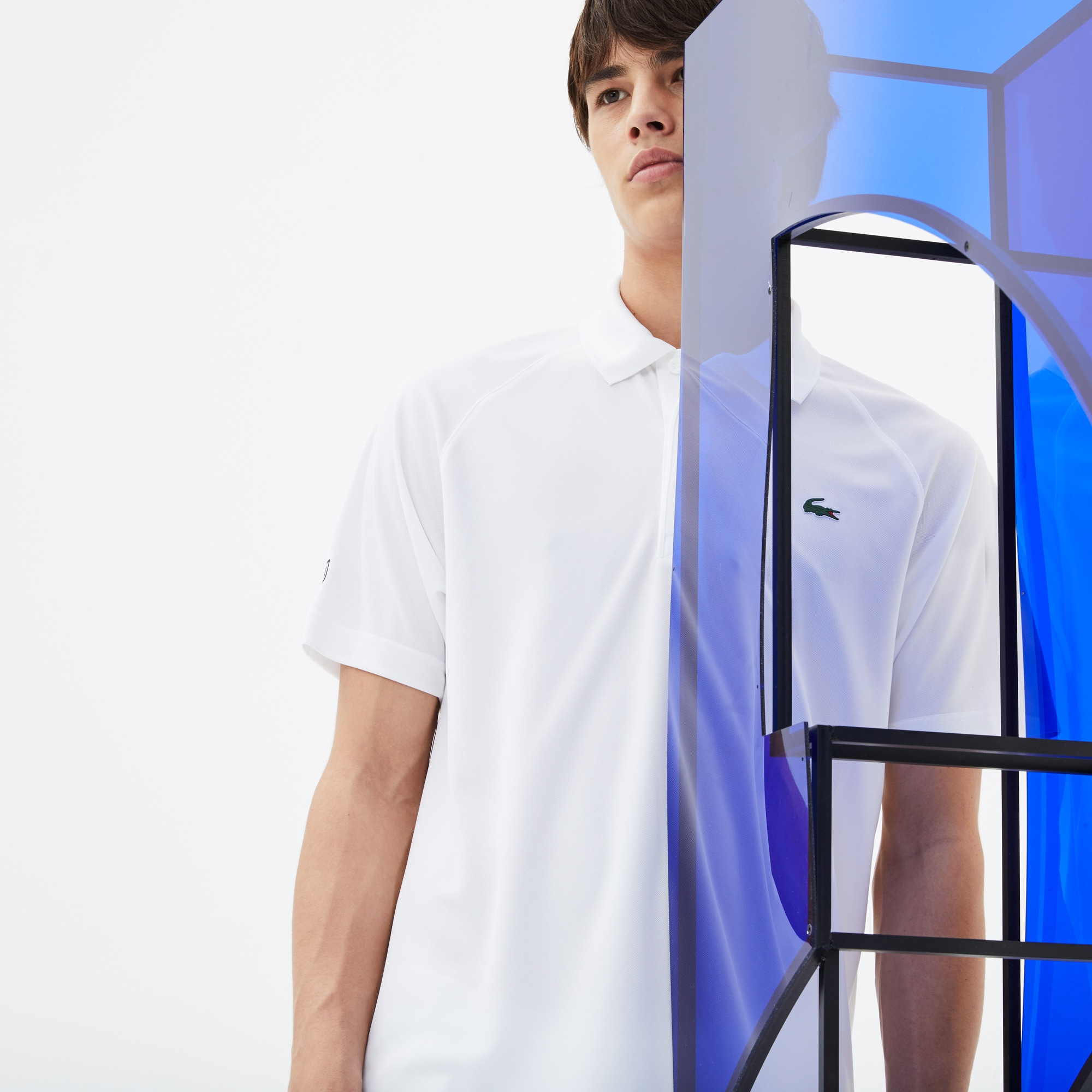Polo Lacoste Collection pour Novak Djokovic -  Exclusive Green Edition