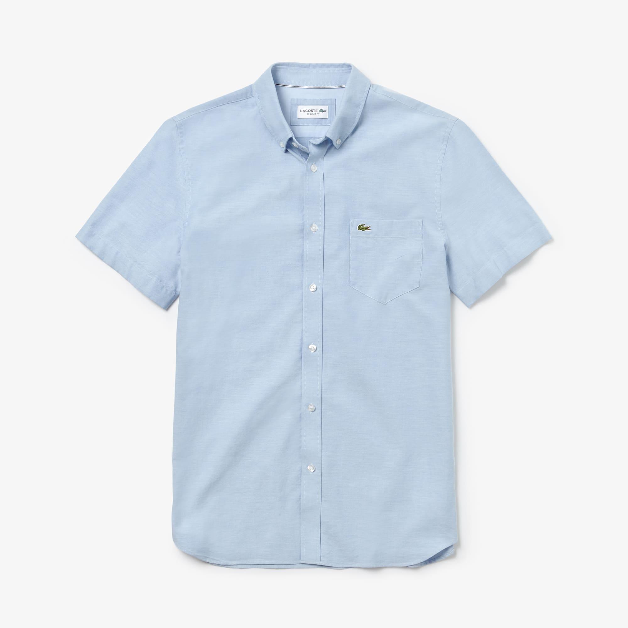 LACOSTE Chemises courtes manches à Vêtements Homme BrF7BfXq8