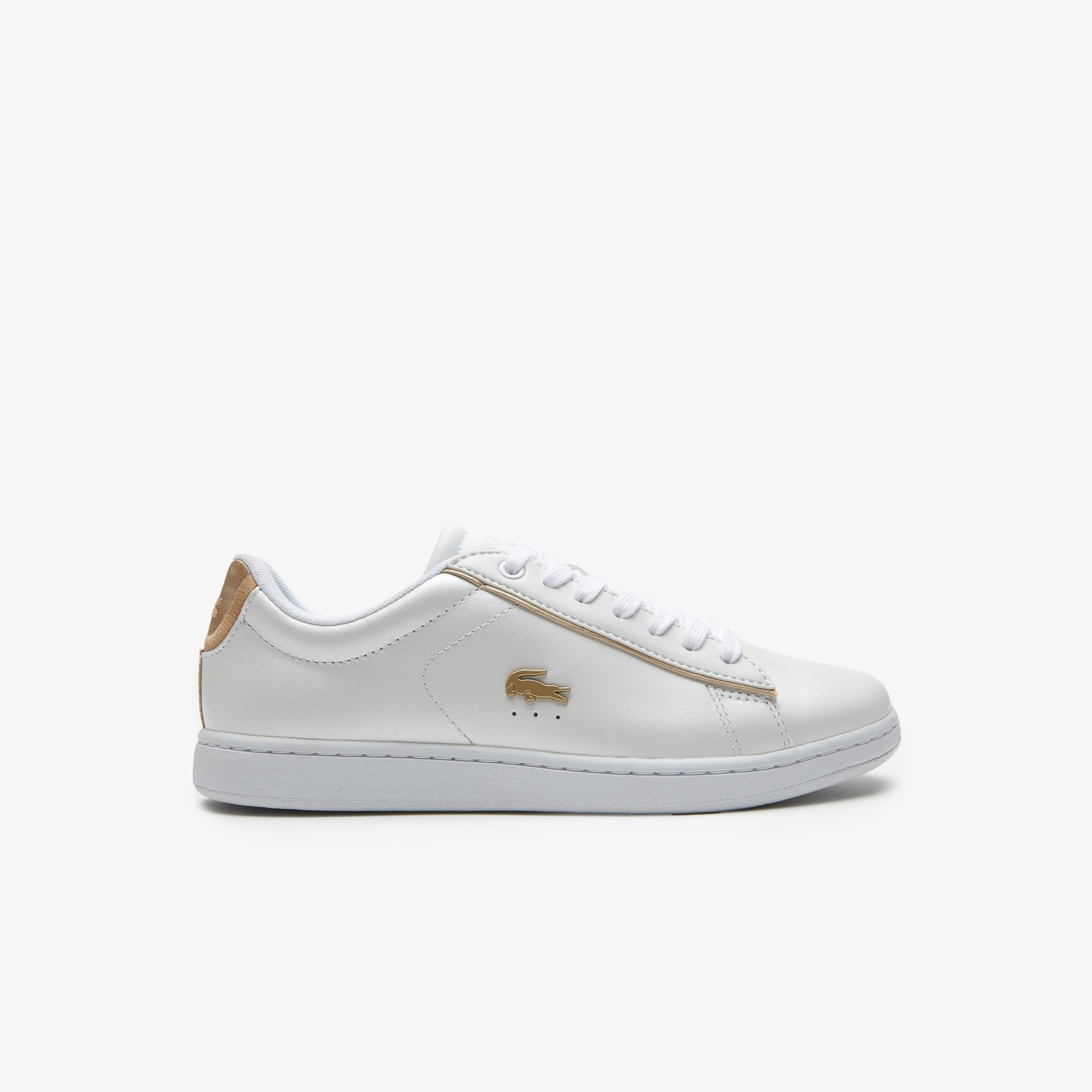 cb8f19974f Sneakers Carnaby Femme En Evo NacréLacoste Cuir GMSUpVqz