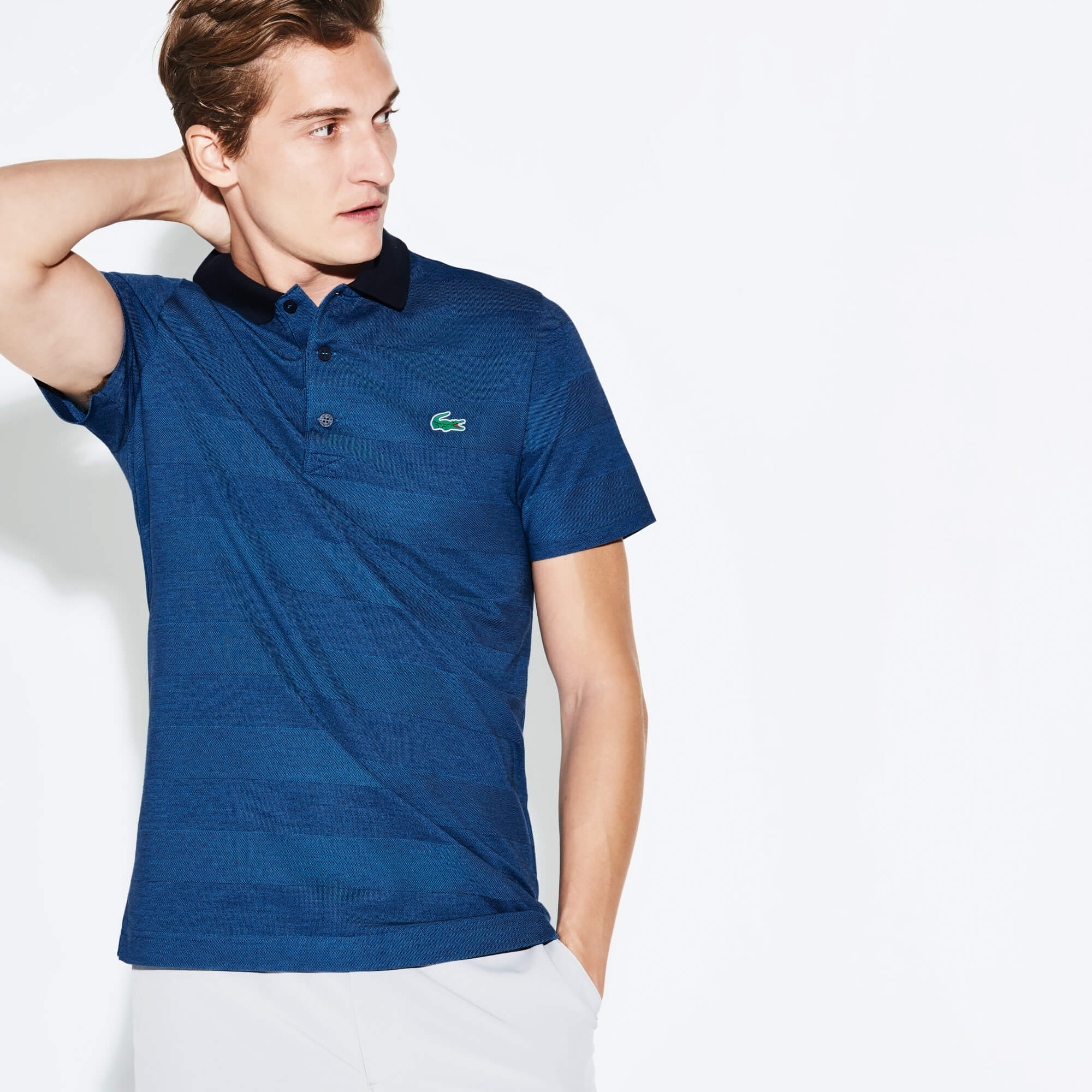 Polo Golf Lacoste SPORT en jersey technique