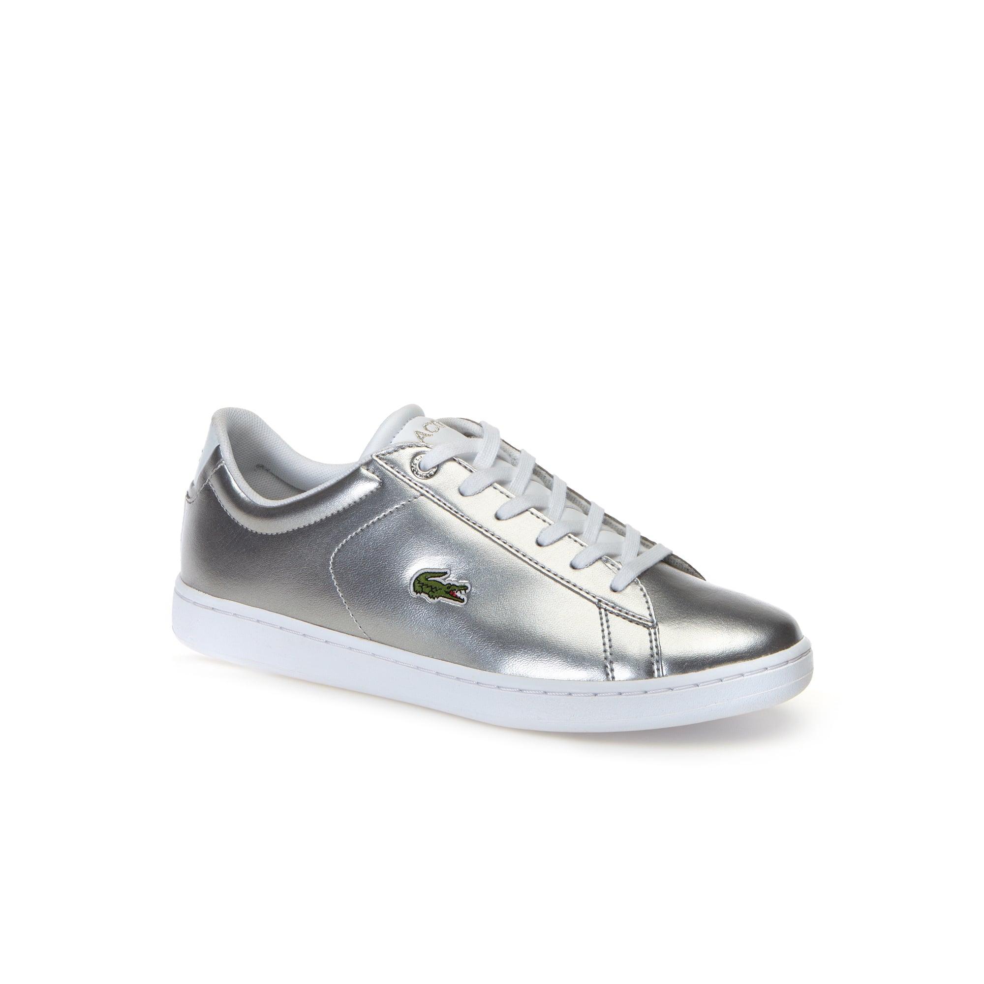 Sneakers Carnaby Evo enfant couleur argent en synthétique